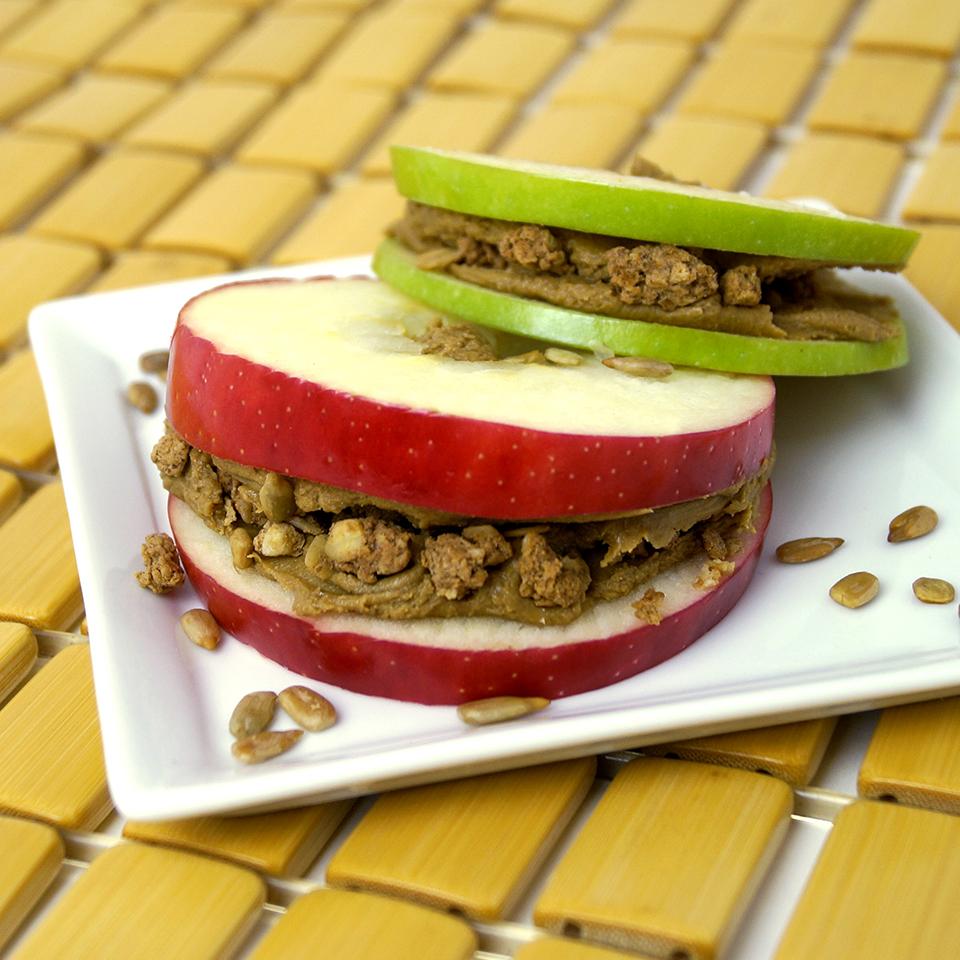 SunButter® Apple Sandwich