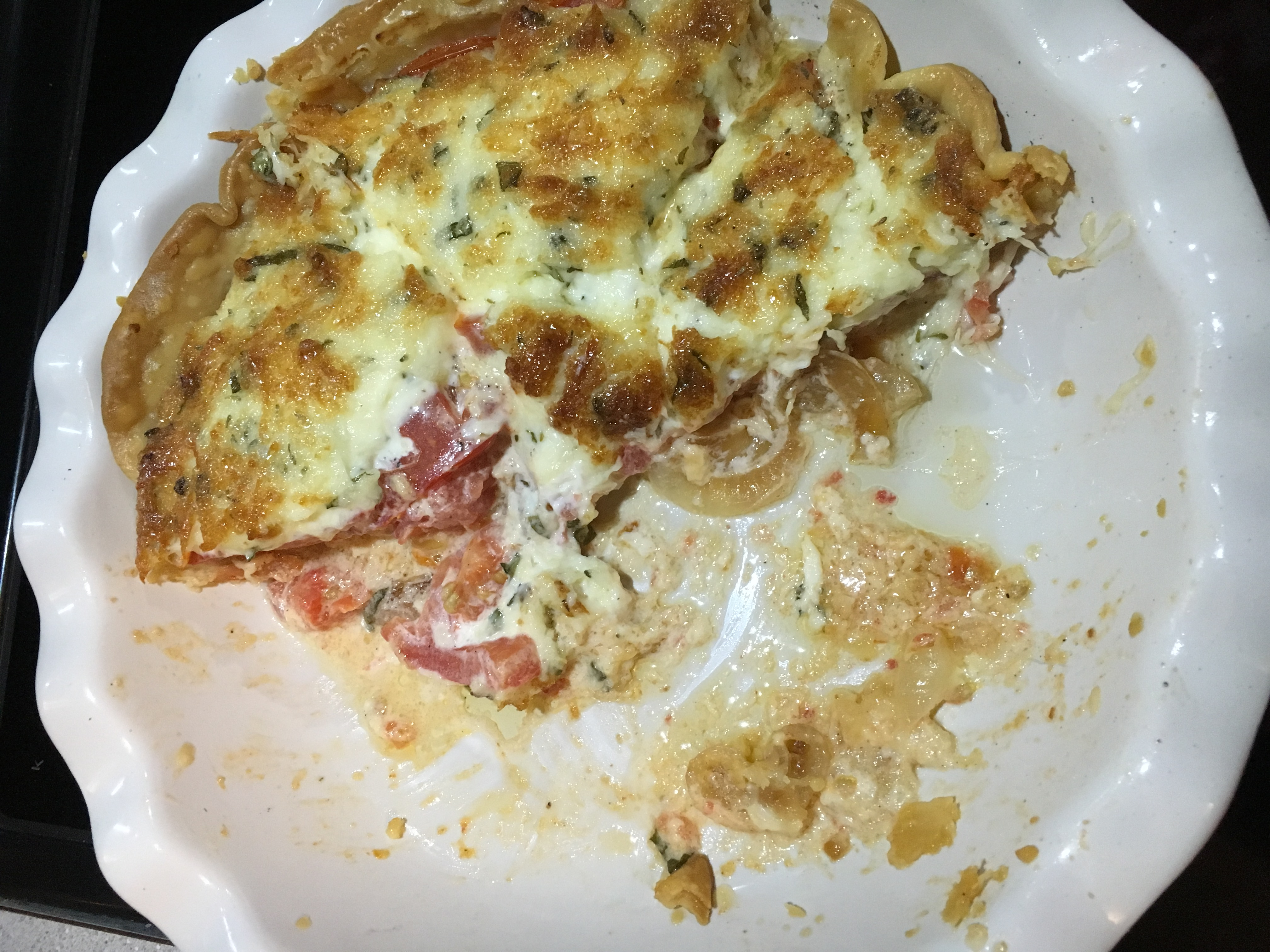Fresh Tomato Pie clynnsmo