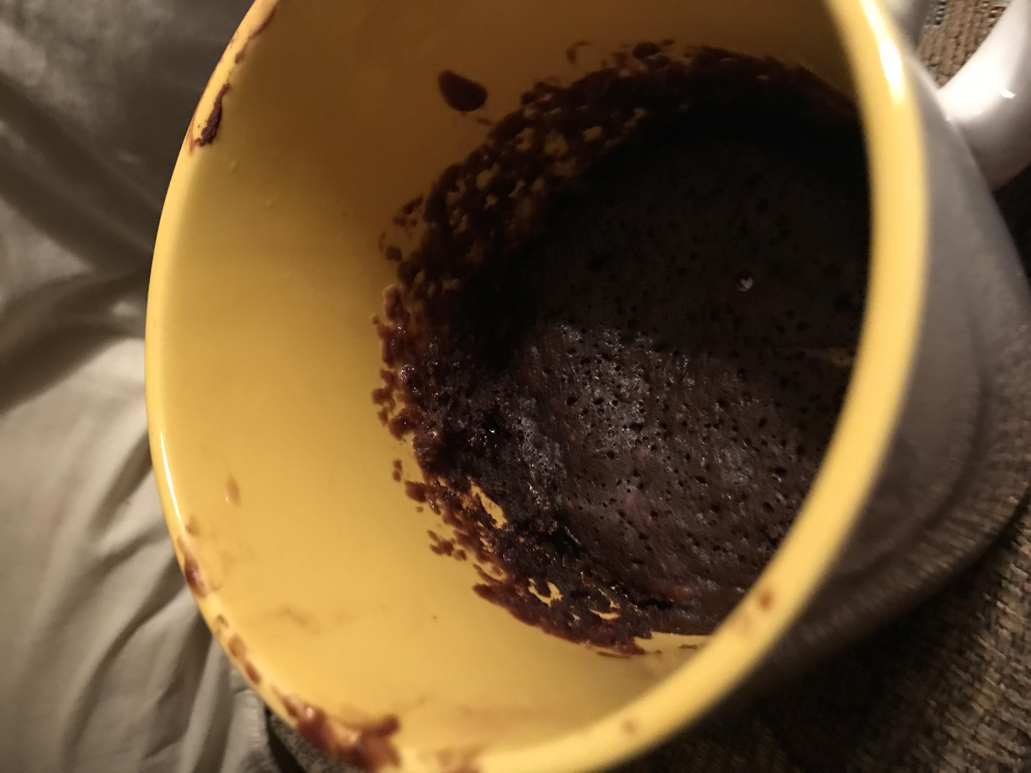 Microwave Chocolate Mug Cake Lilly007