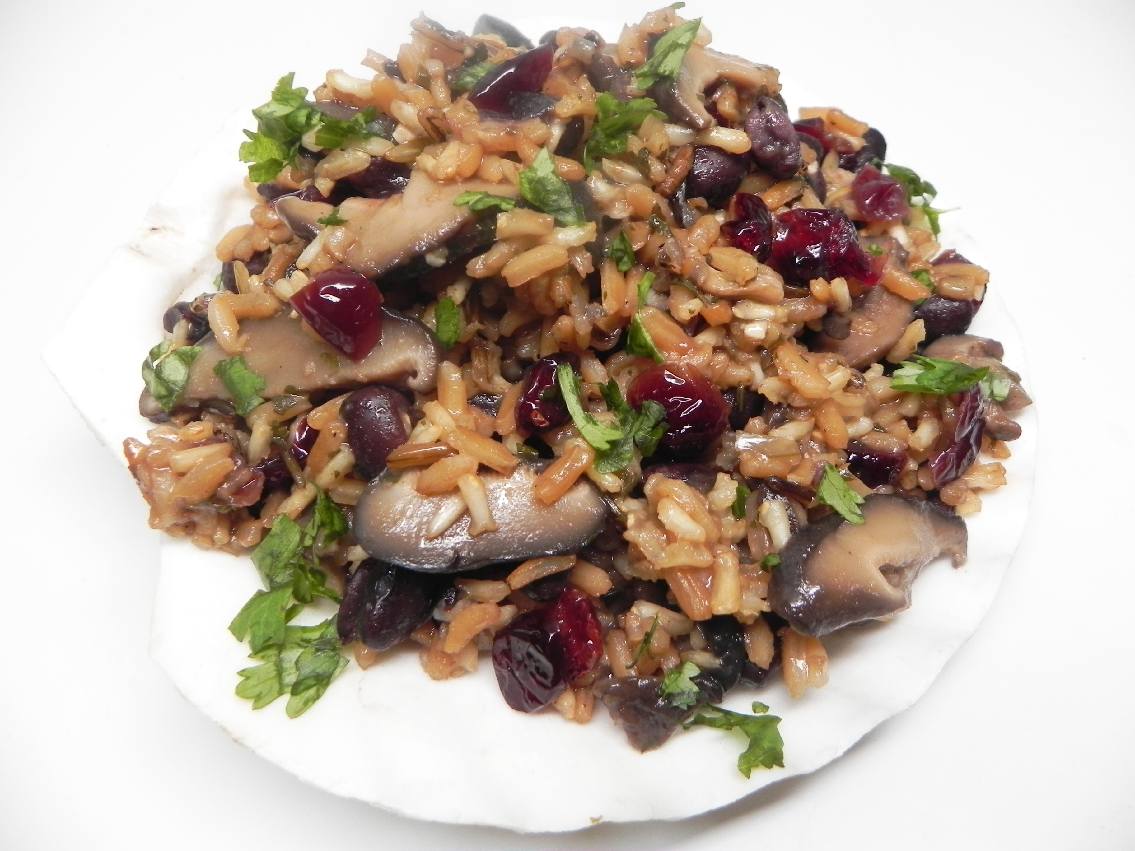 Brown and Wild Rice Medley with Black Beans