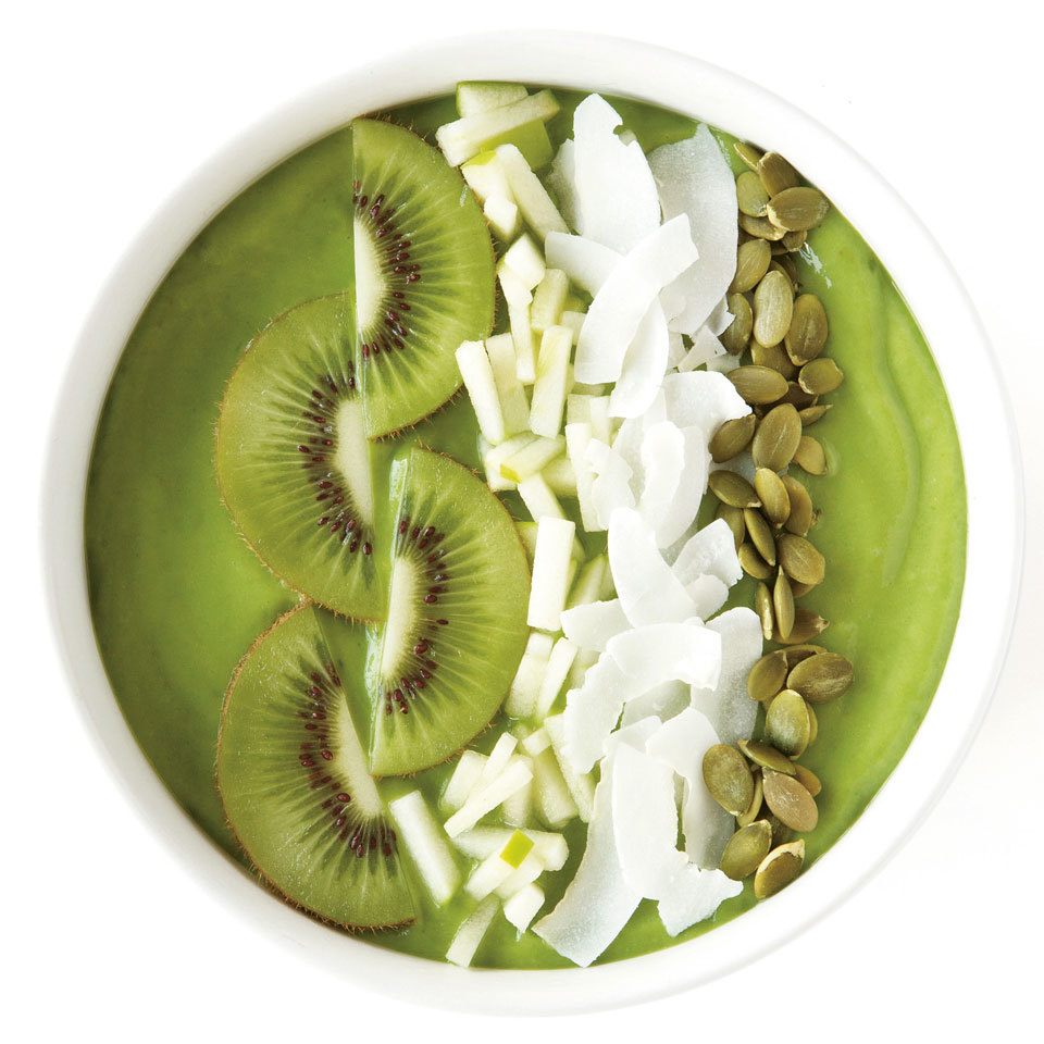 All Greens Smoothie Bowl Lily Kunin