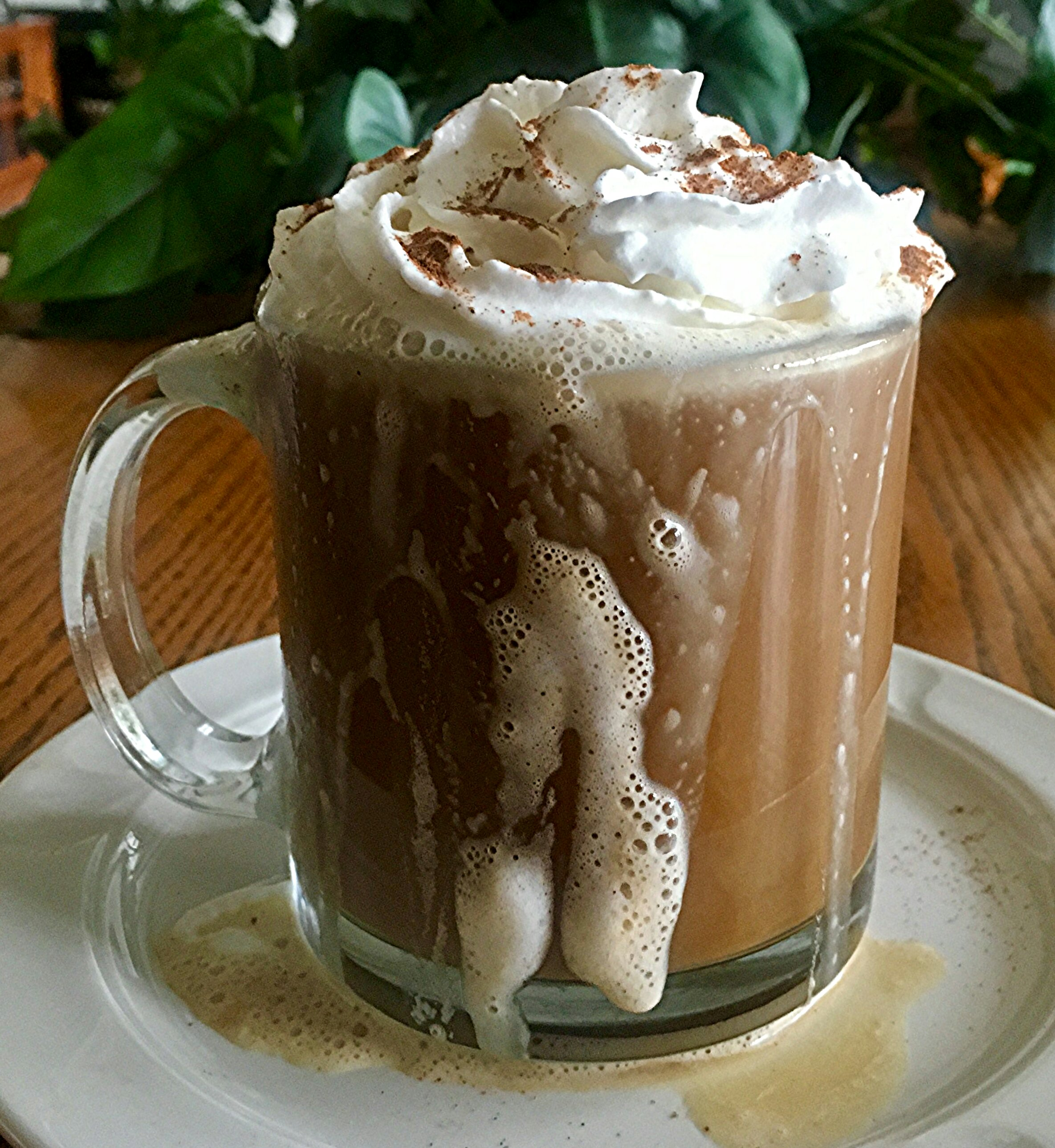 Quick Gingerbread Latte Yoly