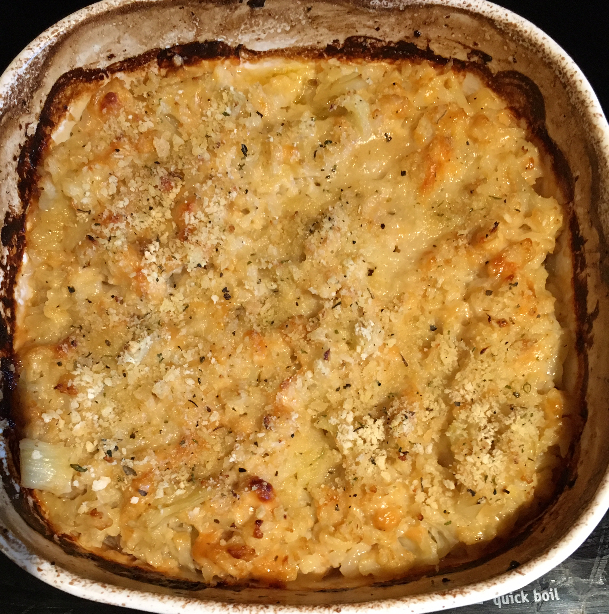 Low Carb Mac-ish and Cheese melanie