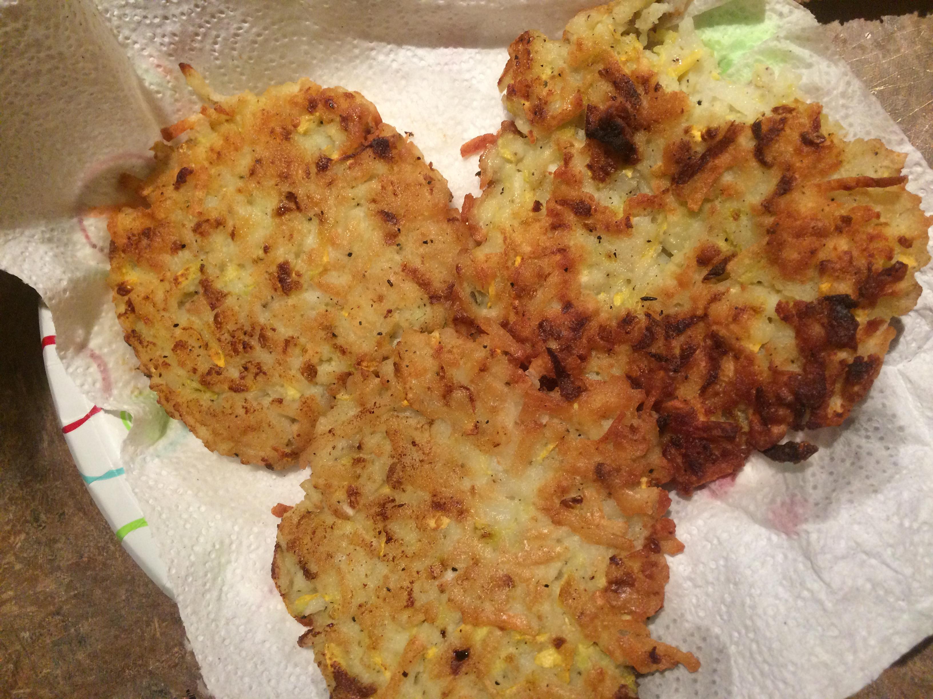 Potato Squash Cakes Mag