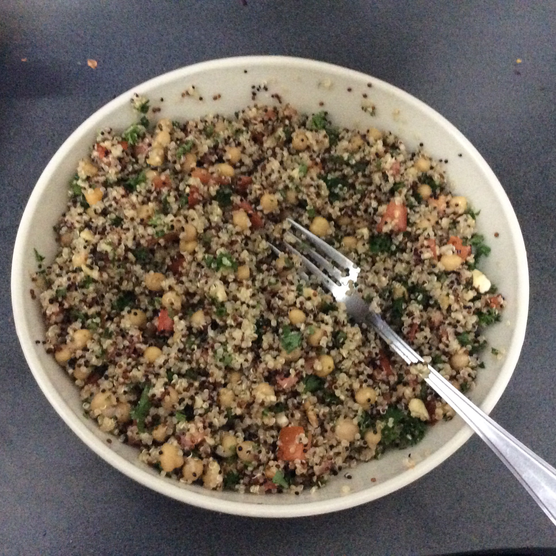 Herbed Quinoa and Chickpea Pilaf Outlander71
