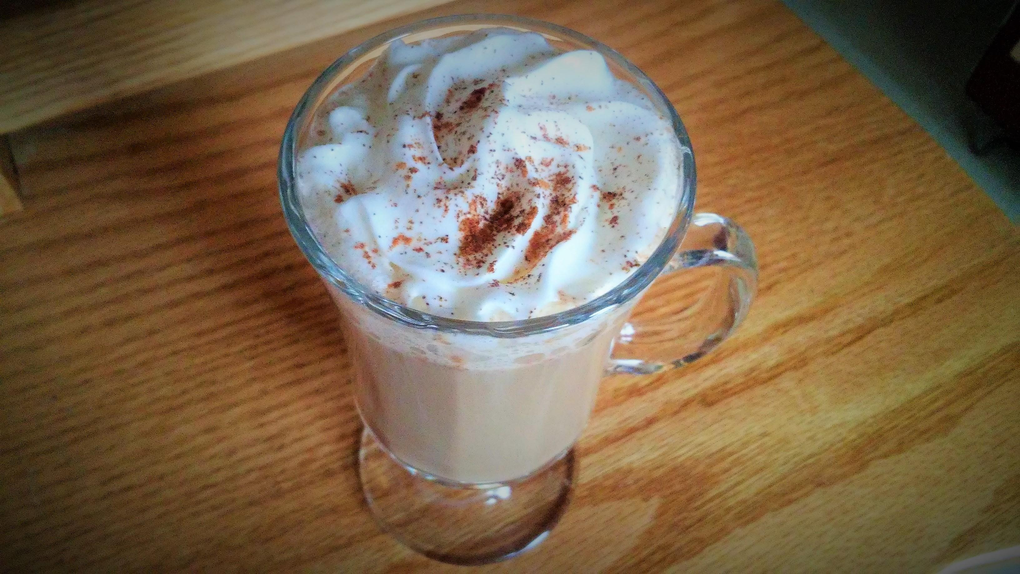 Quick Gingerbread Latte