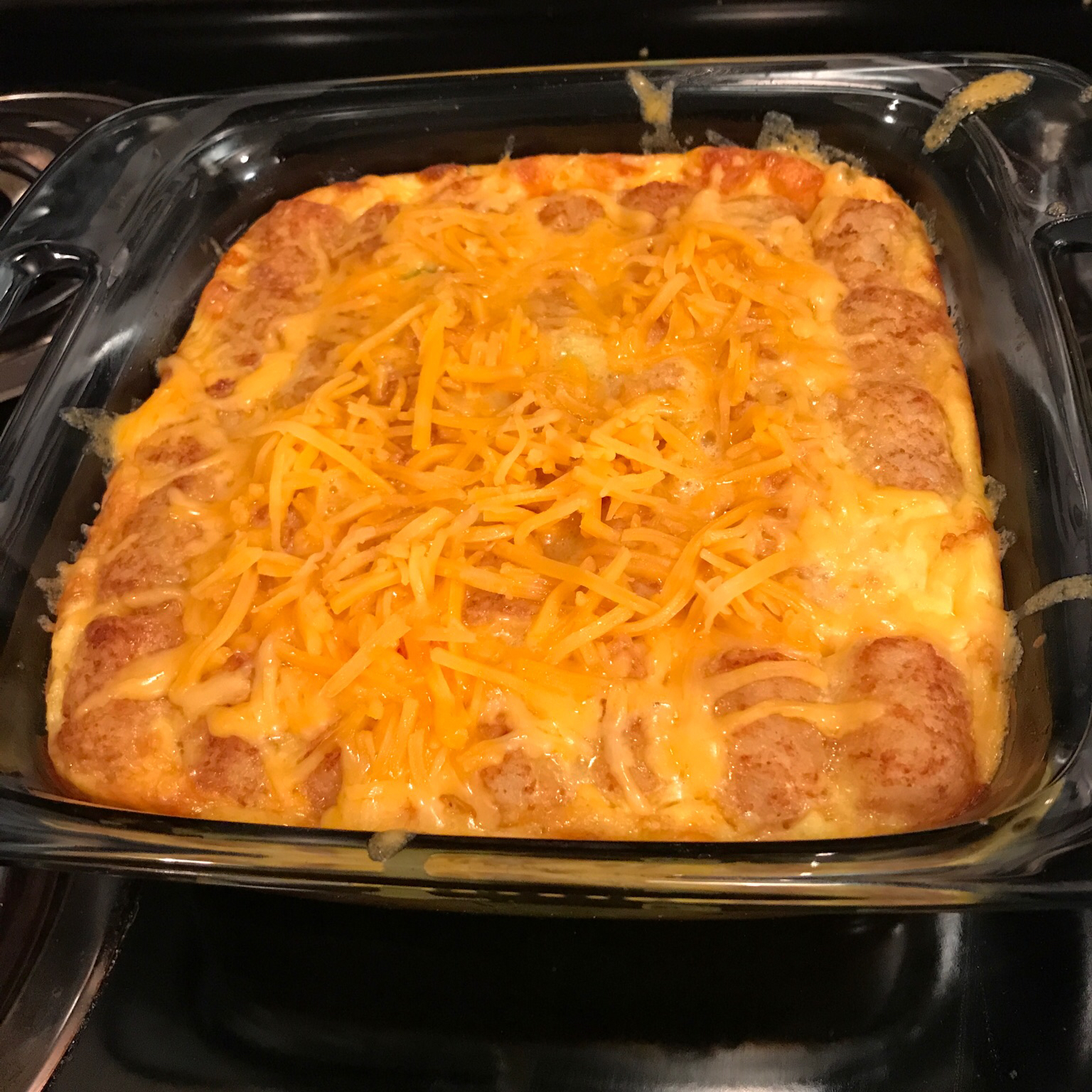 Ham and Cheese Omelet Casserole