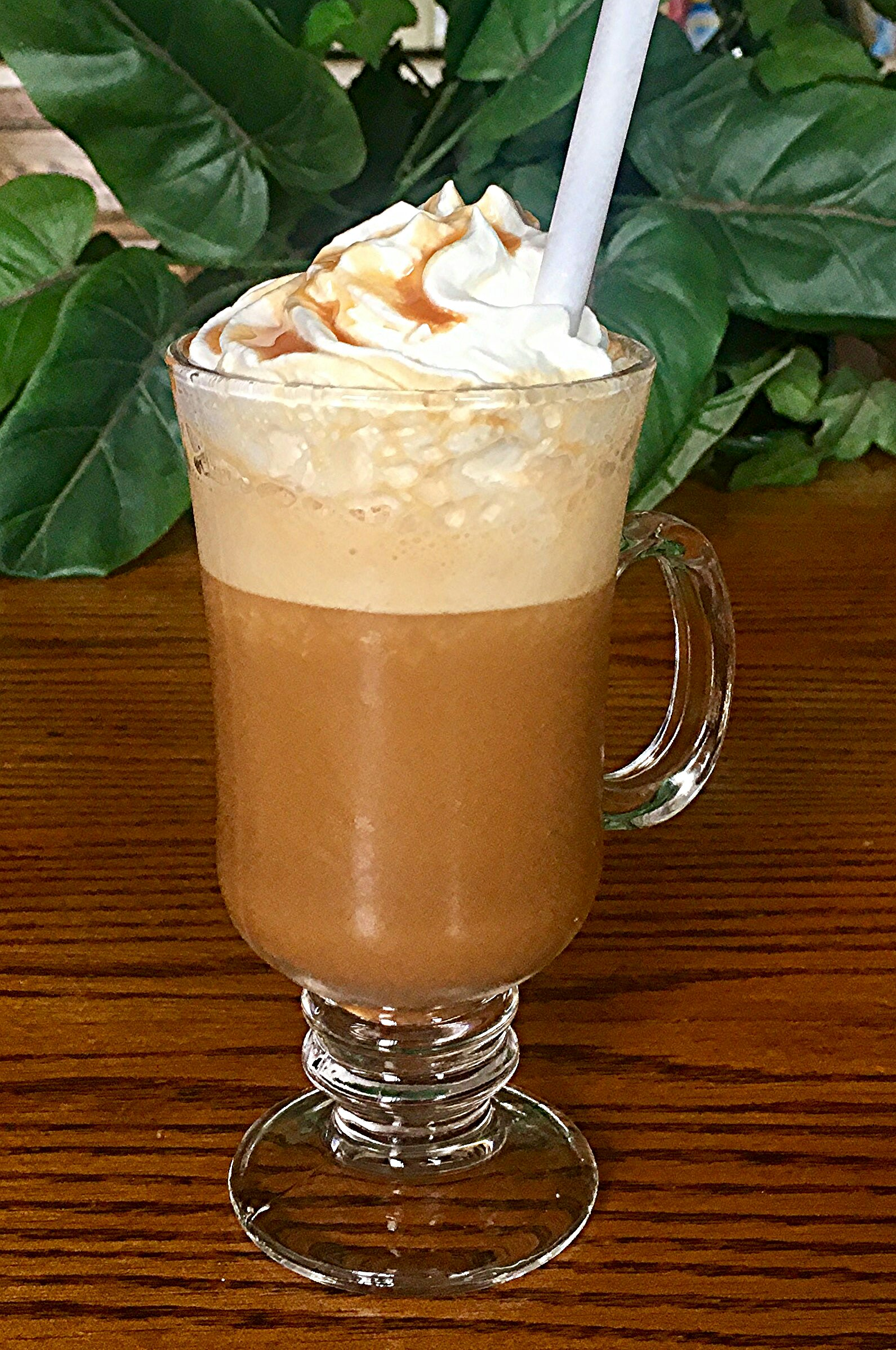 Frozen Caramel Latte