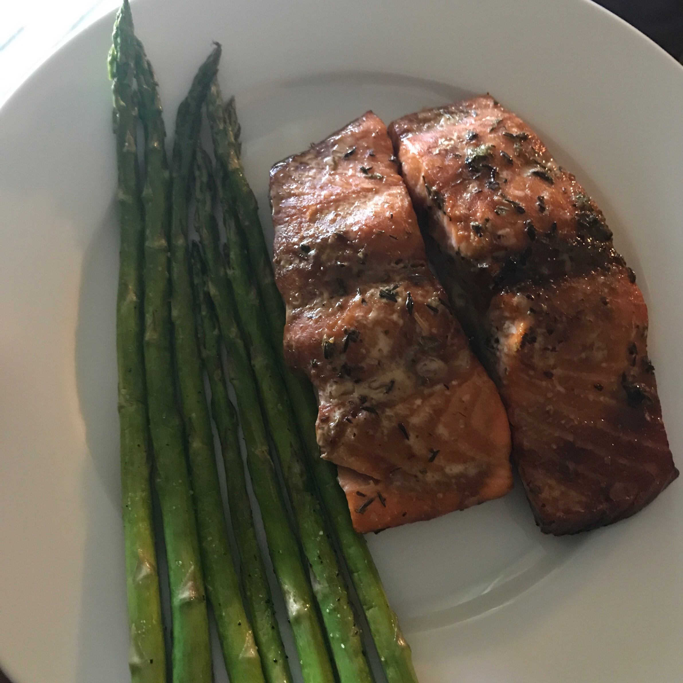 Heather's Grilled Salmon jay
