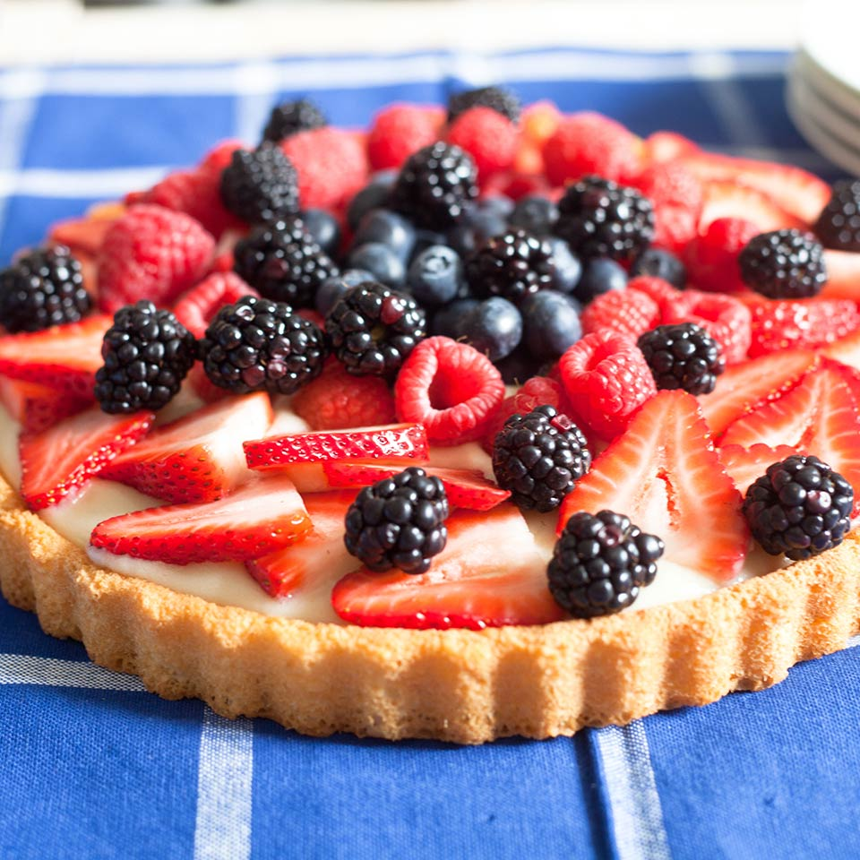 Summer Fruit Tart from Almond Breeze®