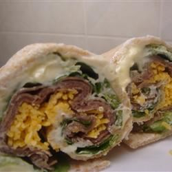 Roast Beef Horseradish Roll-Ups