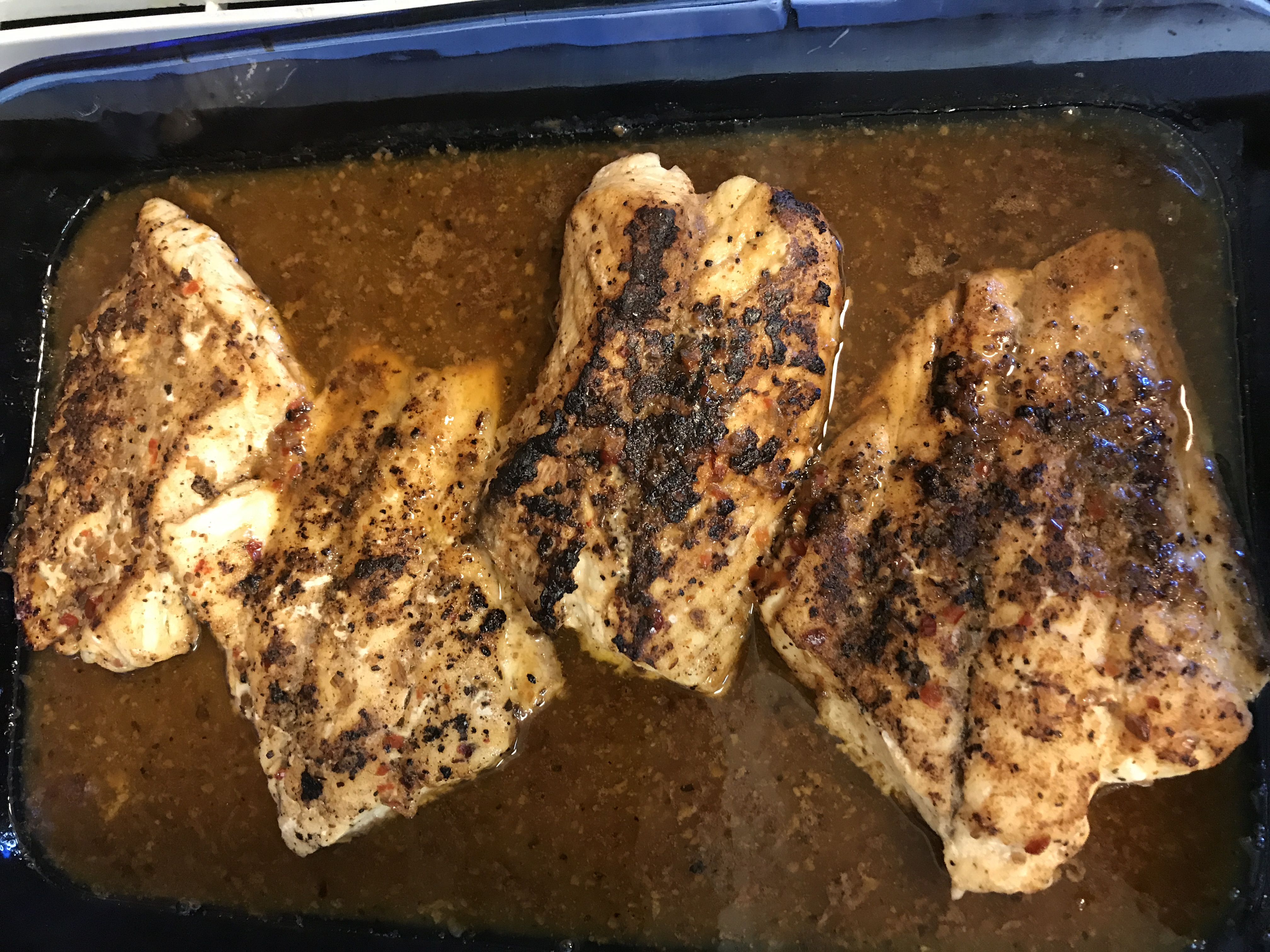 Cajun Blackened Redfish