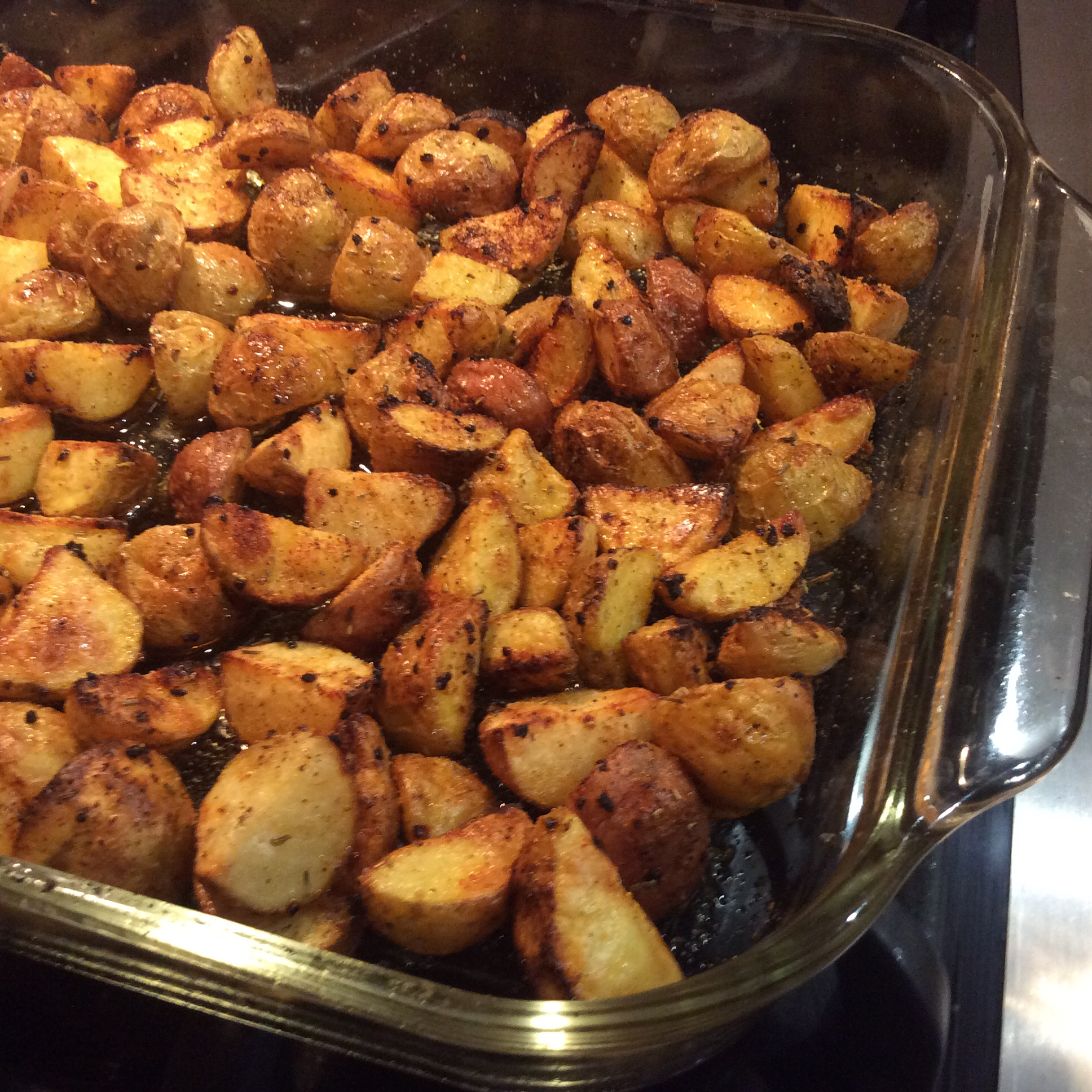 Roasted New Red Potatoes Ron
