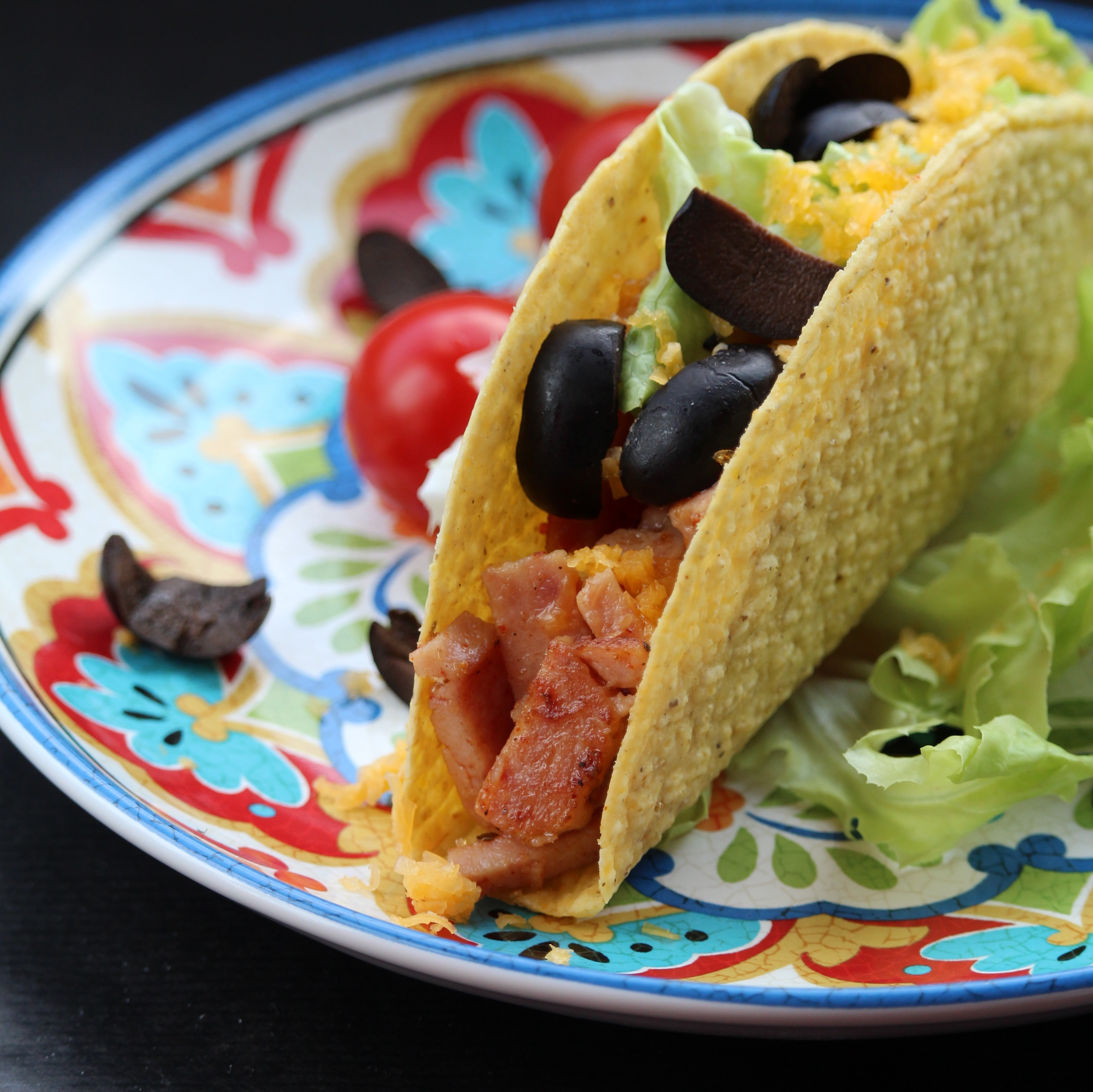 Shredded Spam® Tacos