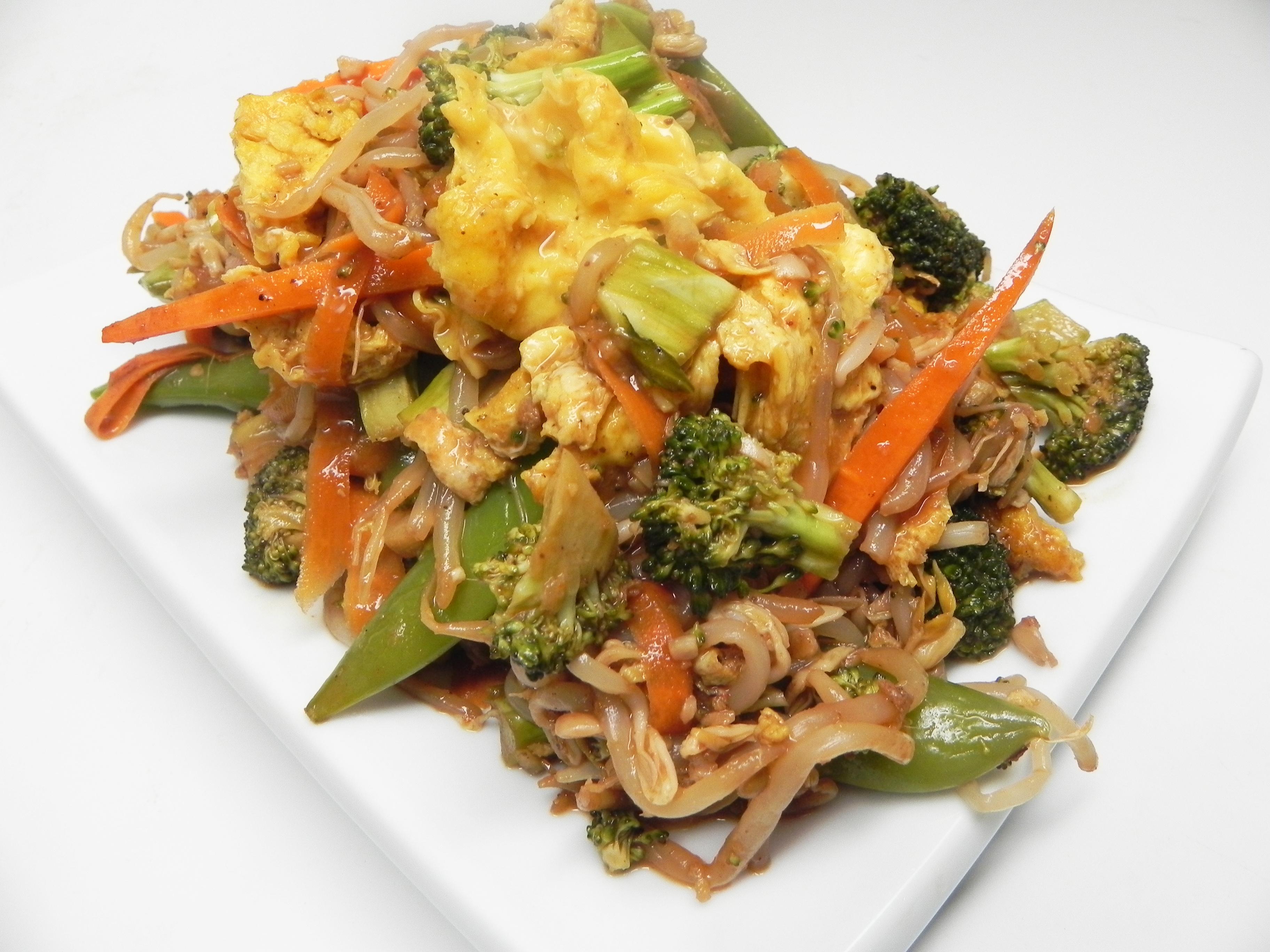 Moo Shu Vegetable Stir Fry