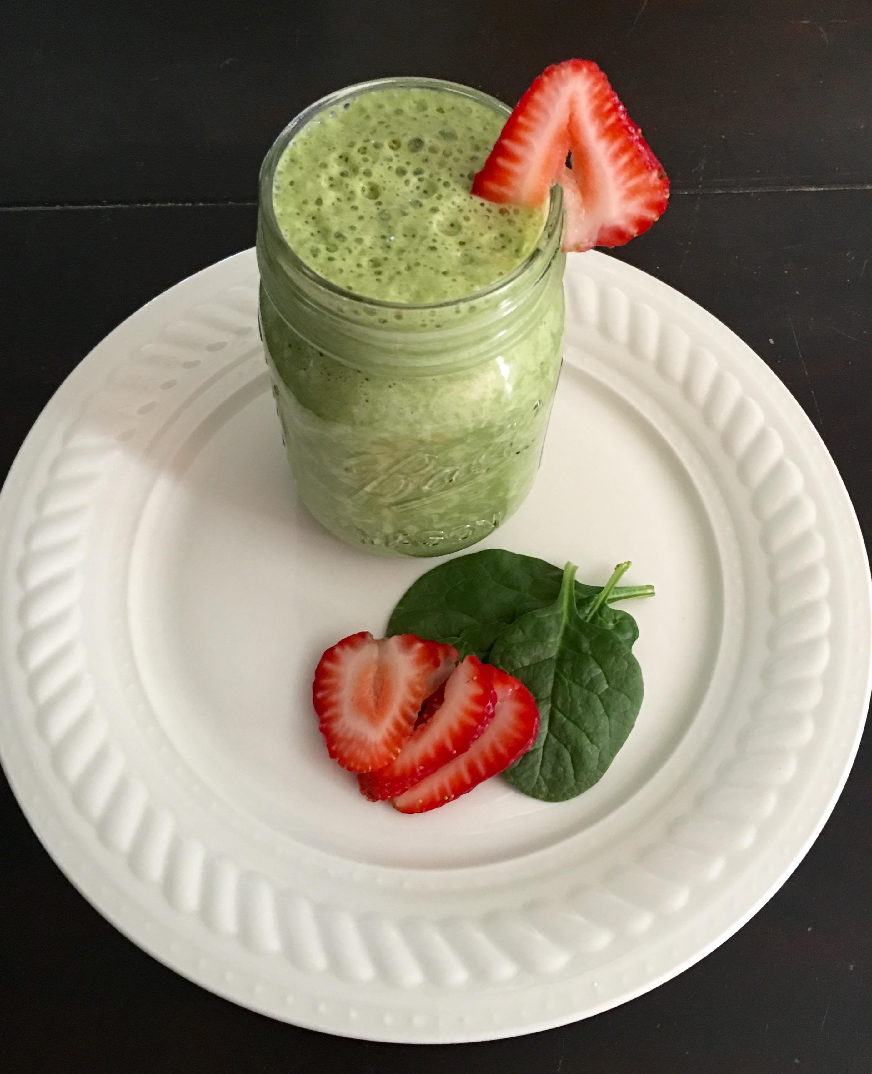 Skinny Vegan Green Smoothie