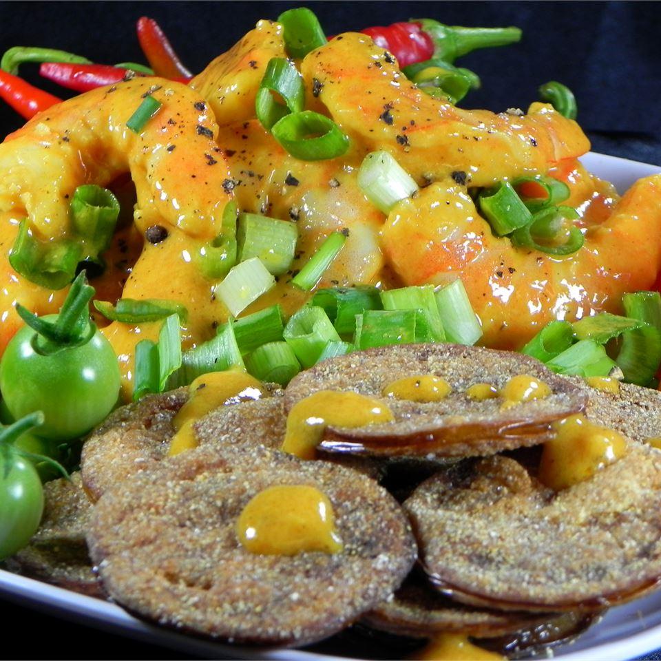 Fried Green Tomatoes with Shrimp Remoulade Liz Horn Pršic