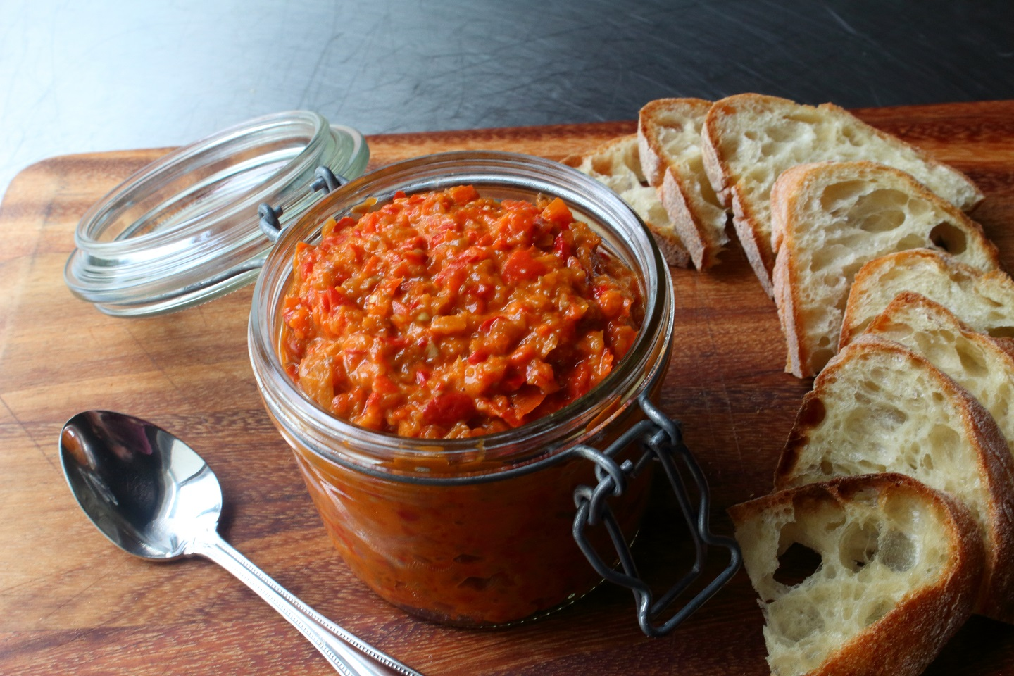 Bomba Calabrese (Spicy Calabrian Pepper Spread)