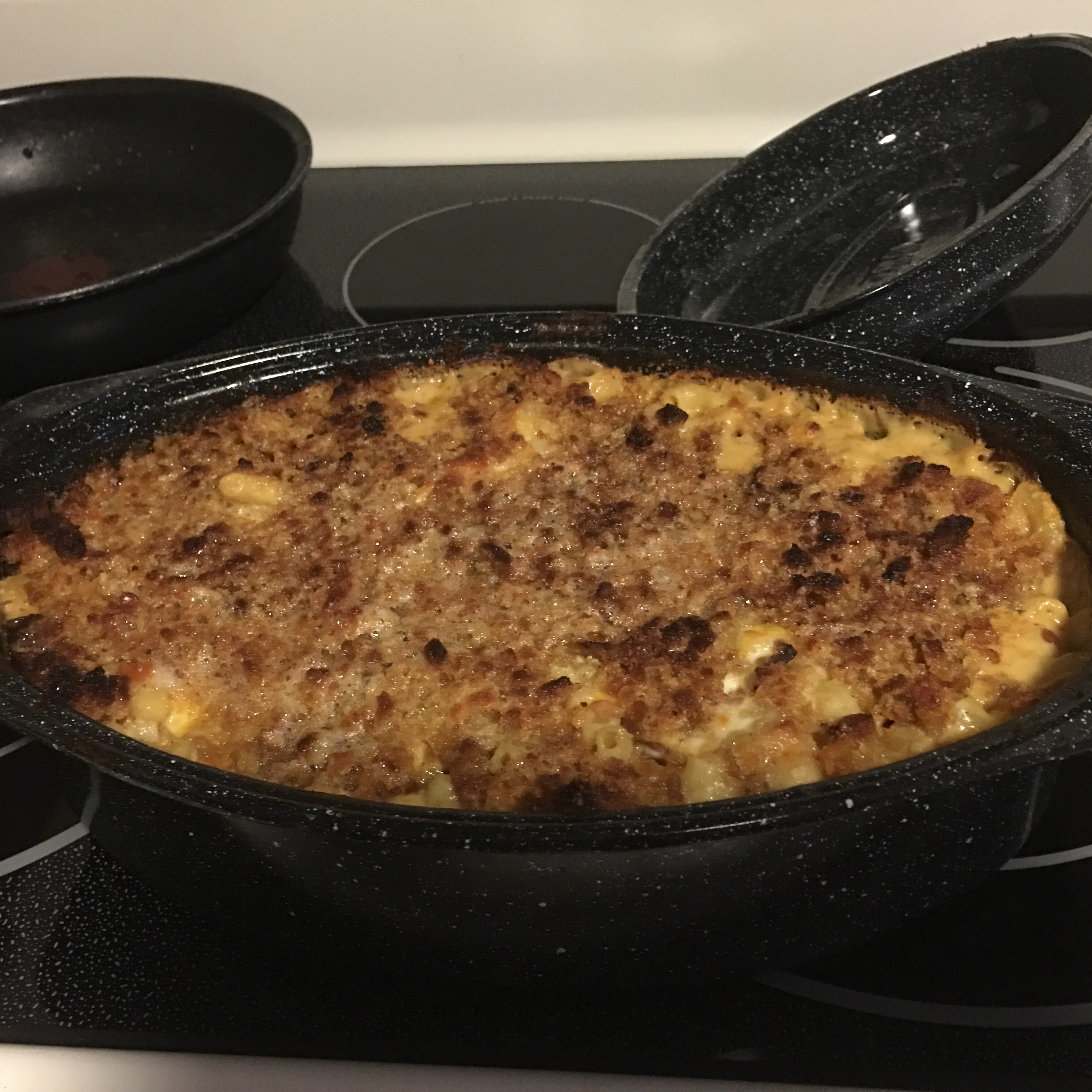 Scallop and Bacon Mac N' Cheese