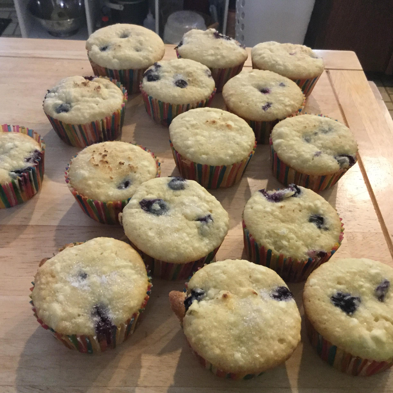 Cream Cheese-Blueberry Muffins Renee S
