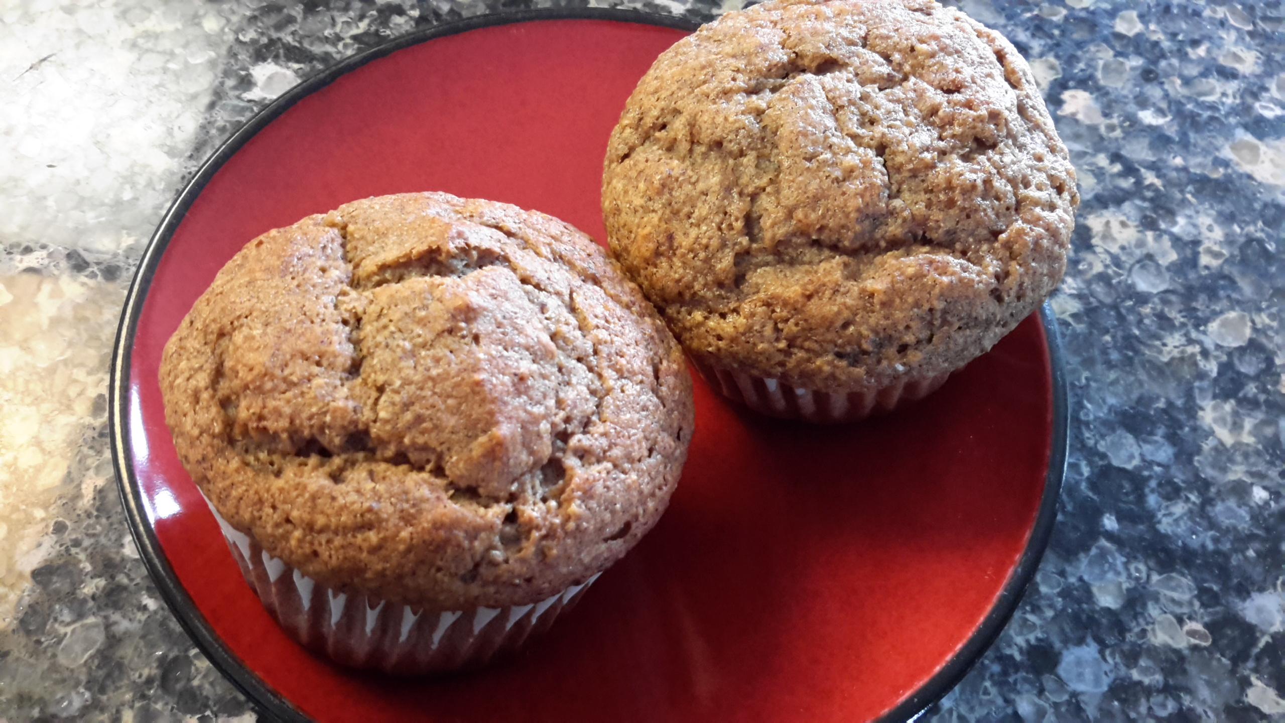 Healthy Strawberry Banana Muffins