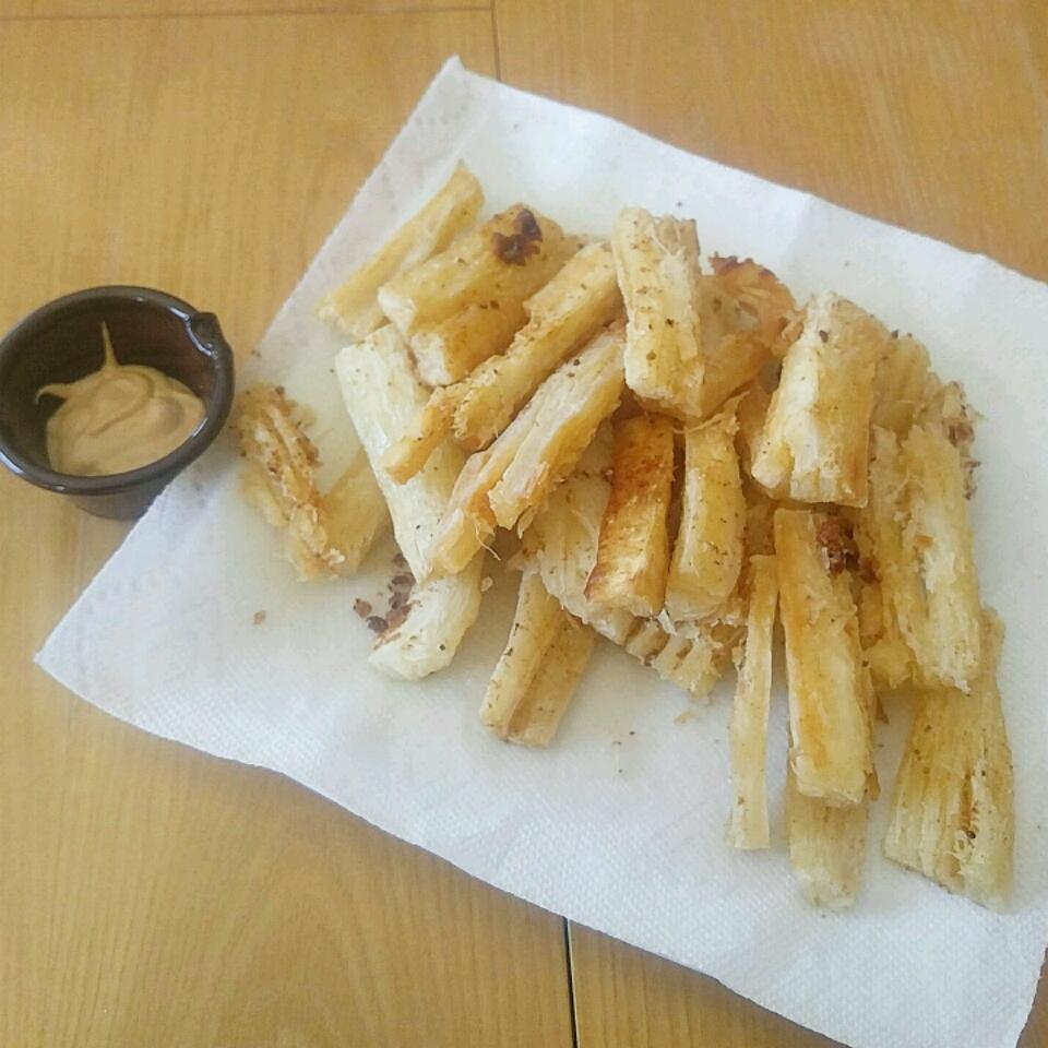 Yuca French Fries Matt Gutierrez