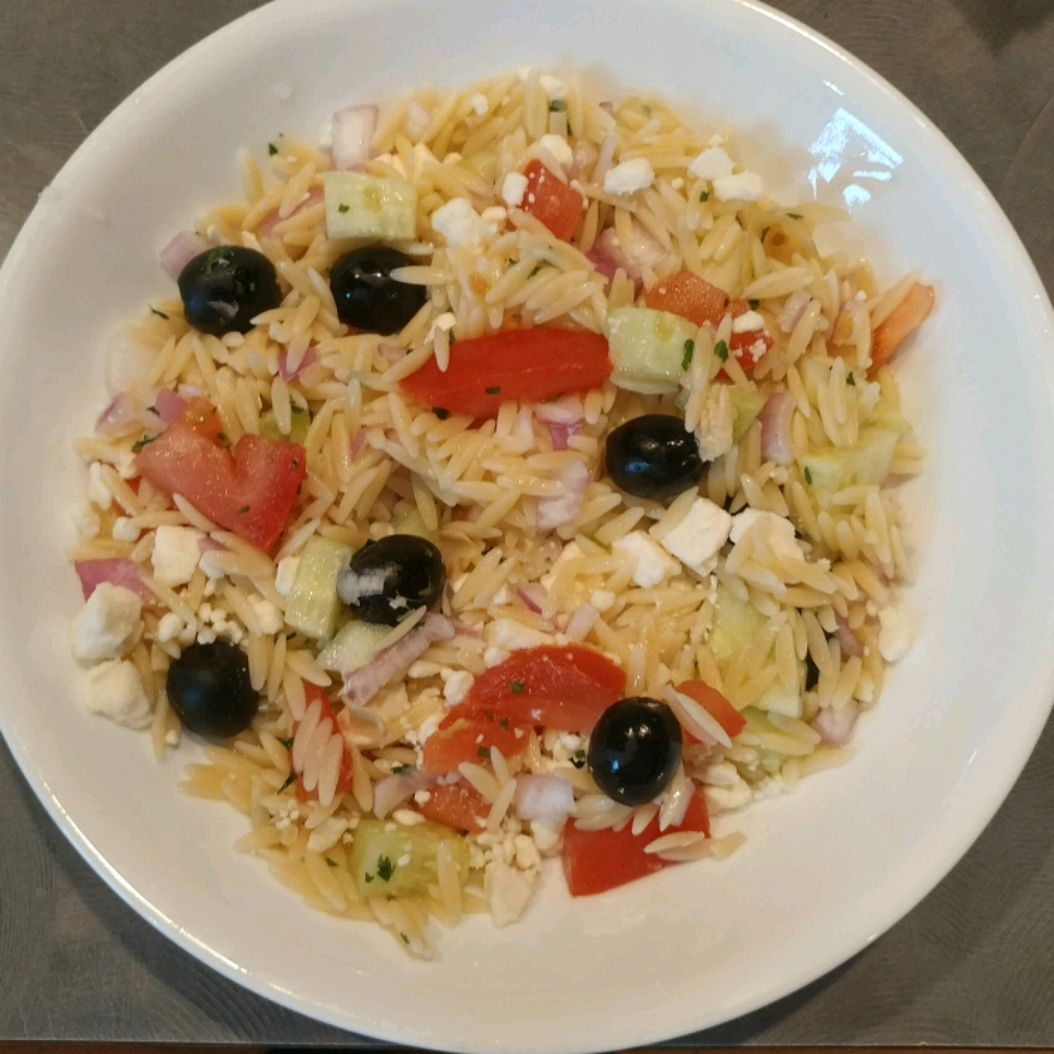 Greek Orzo Salad Lilo Altali