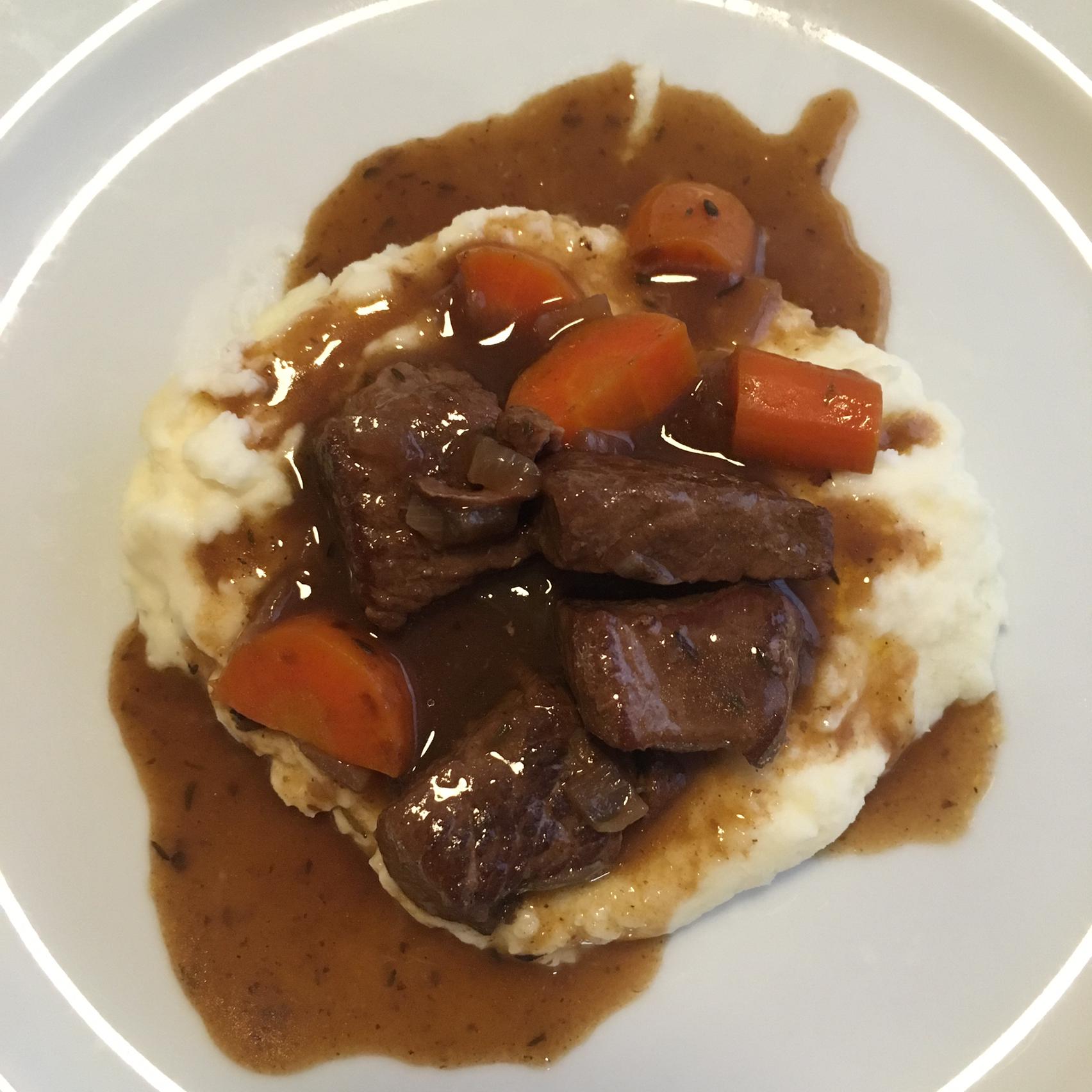 Beef Tips Burgundy Loretta Asencio