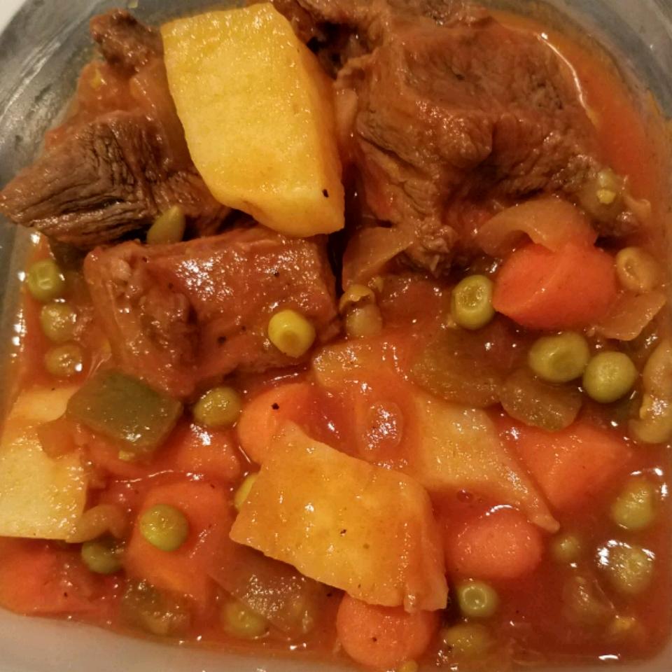 Caldereta (Filipino Beef and Chorizo Stew) Stephanie Costa