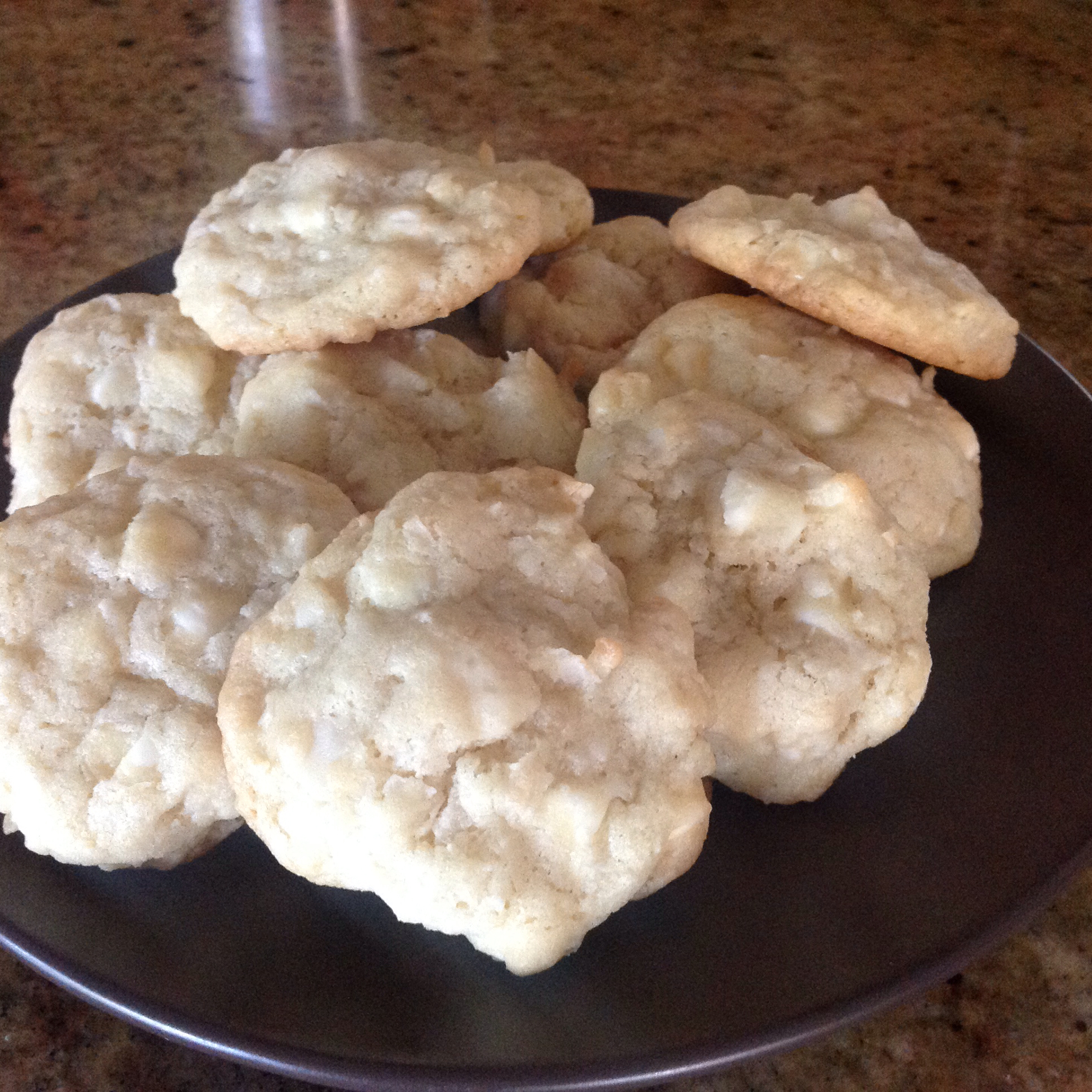 White Chocolate Macadamia Nut Cookies IV