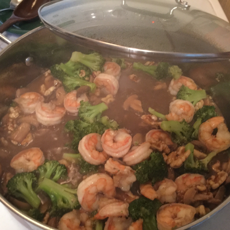 Shrimp with Broccoli in Garlic Sauce Jaimi Jones