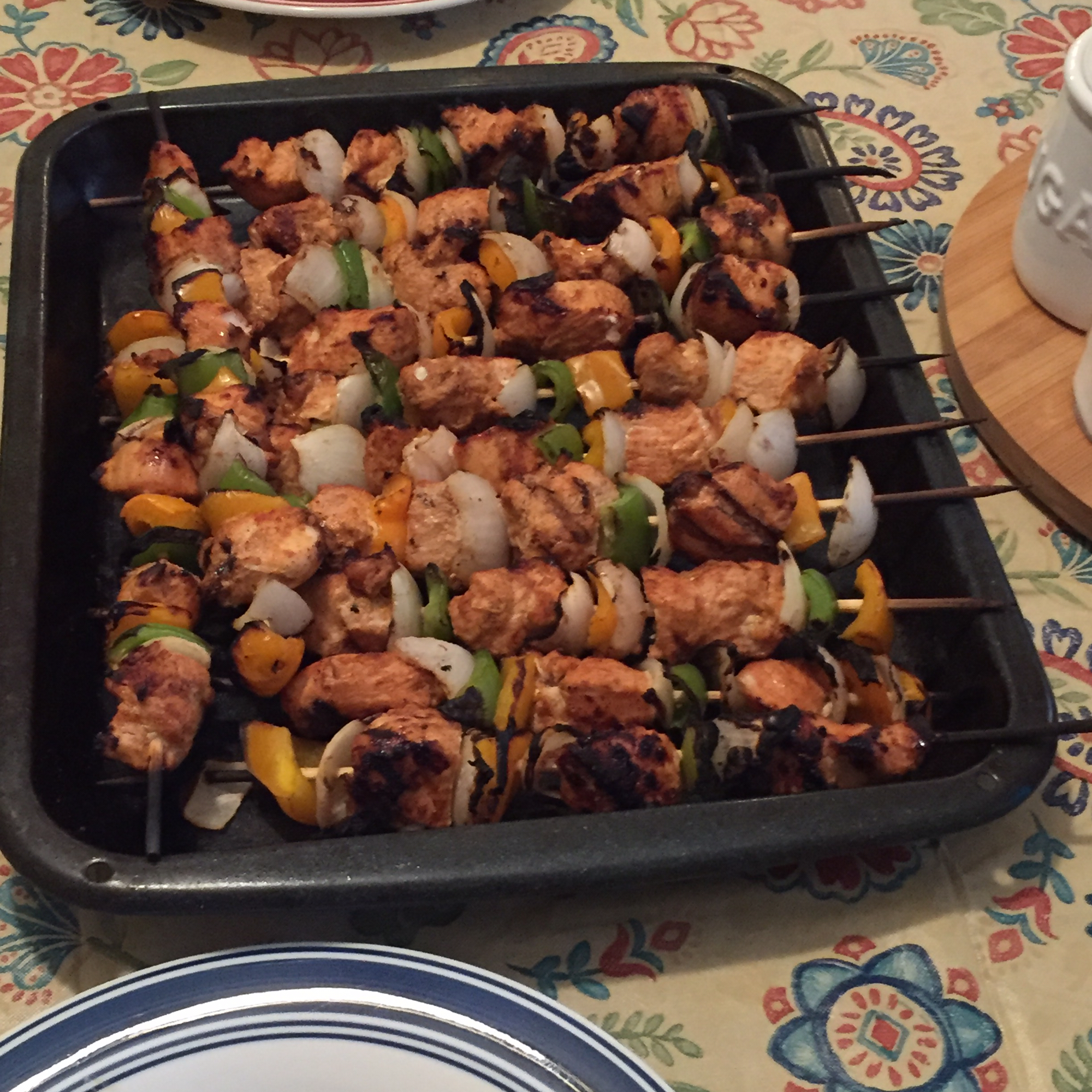 Chicken Fajita Kabob Walter Loy