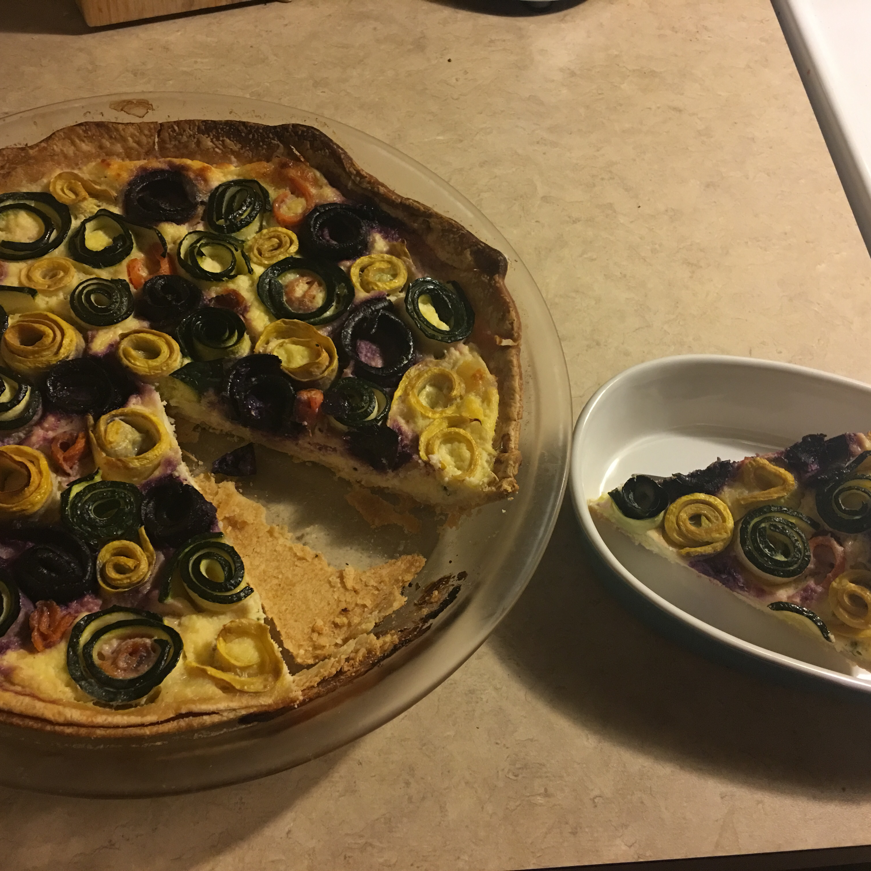Veggie Rose Tart Jordan C