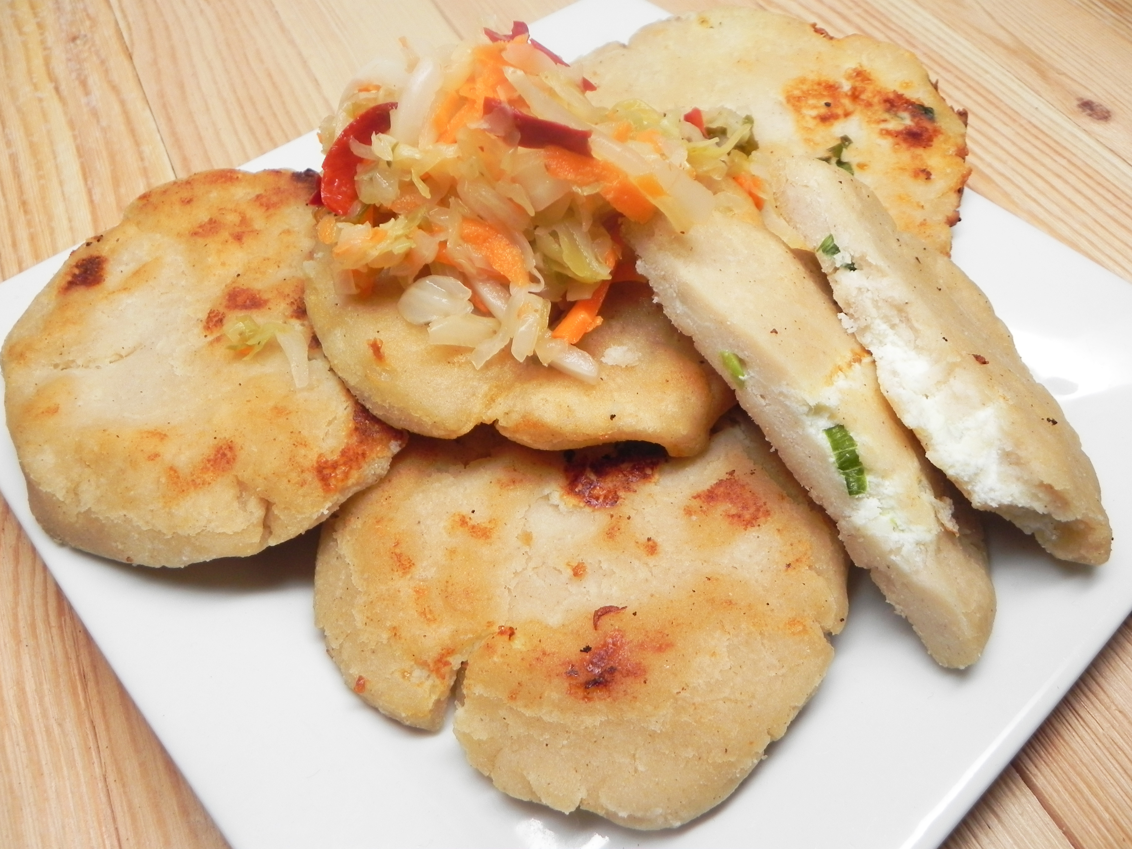 Basic Cheese Pupusas