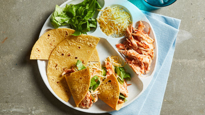 Build-Your-Own Chicken Tacos Trusted Brands