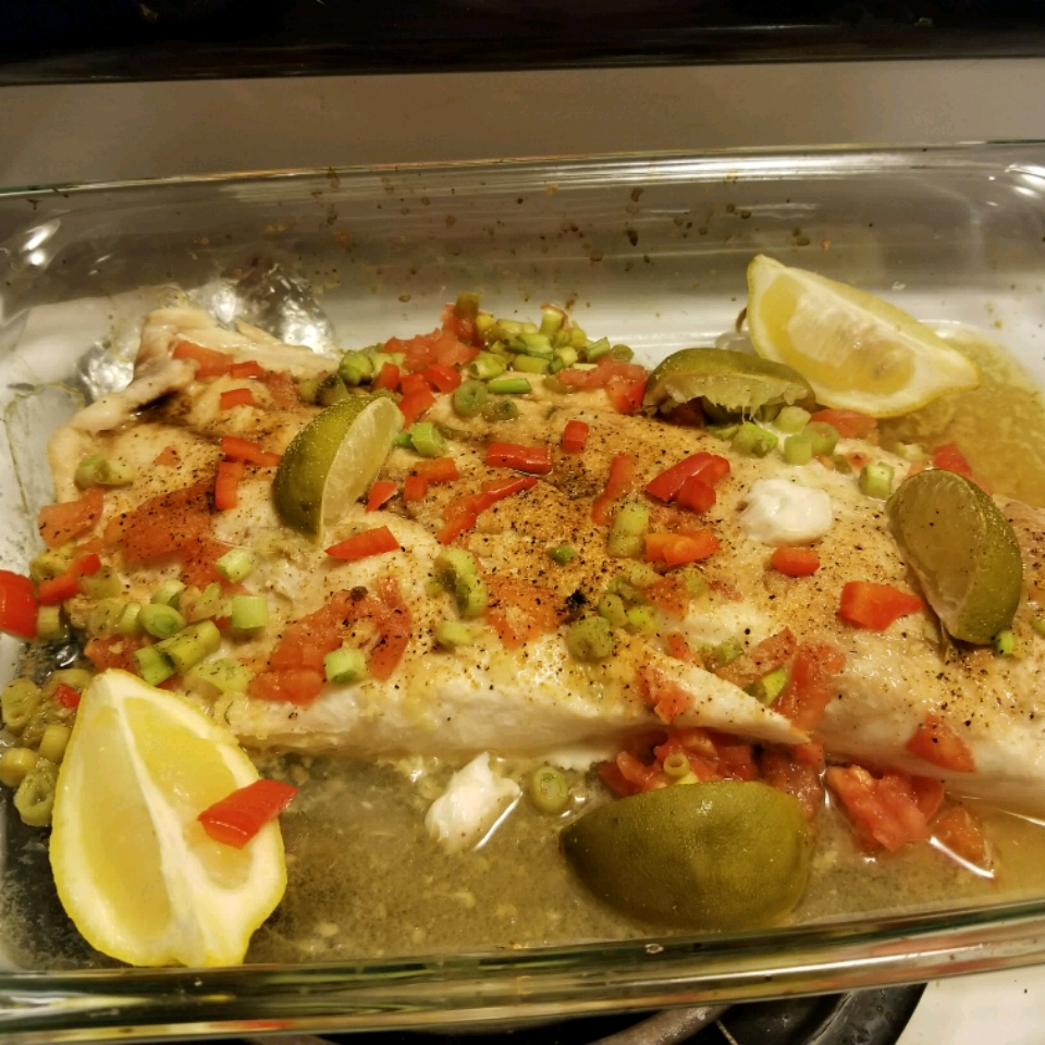 Baked Snapper with Citrus and Ginger Erica Banegas