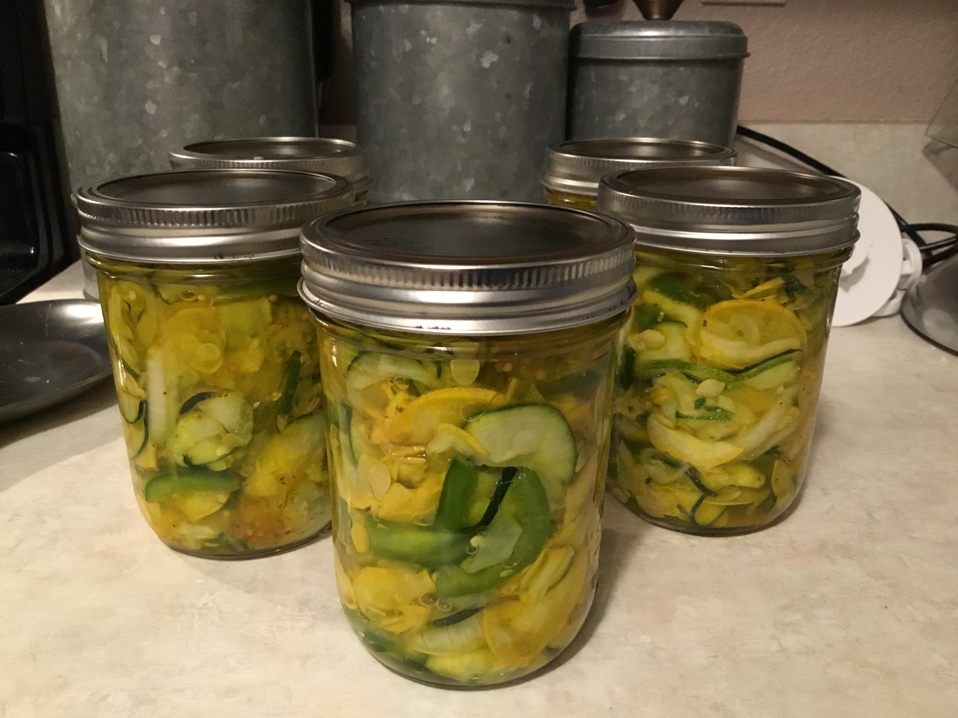 Pickled Squash