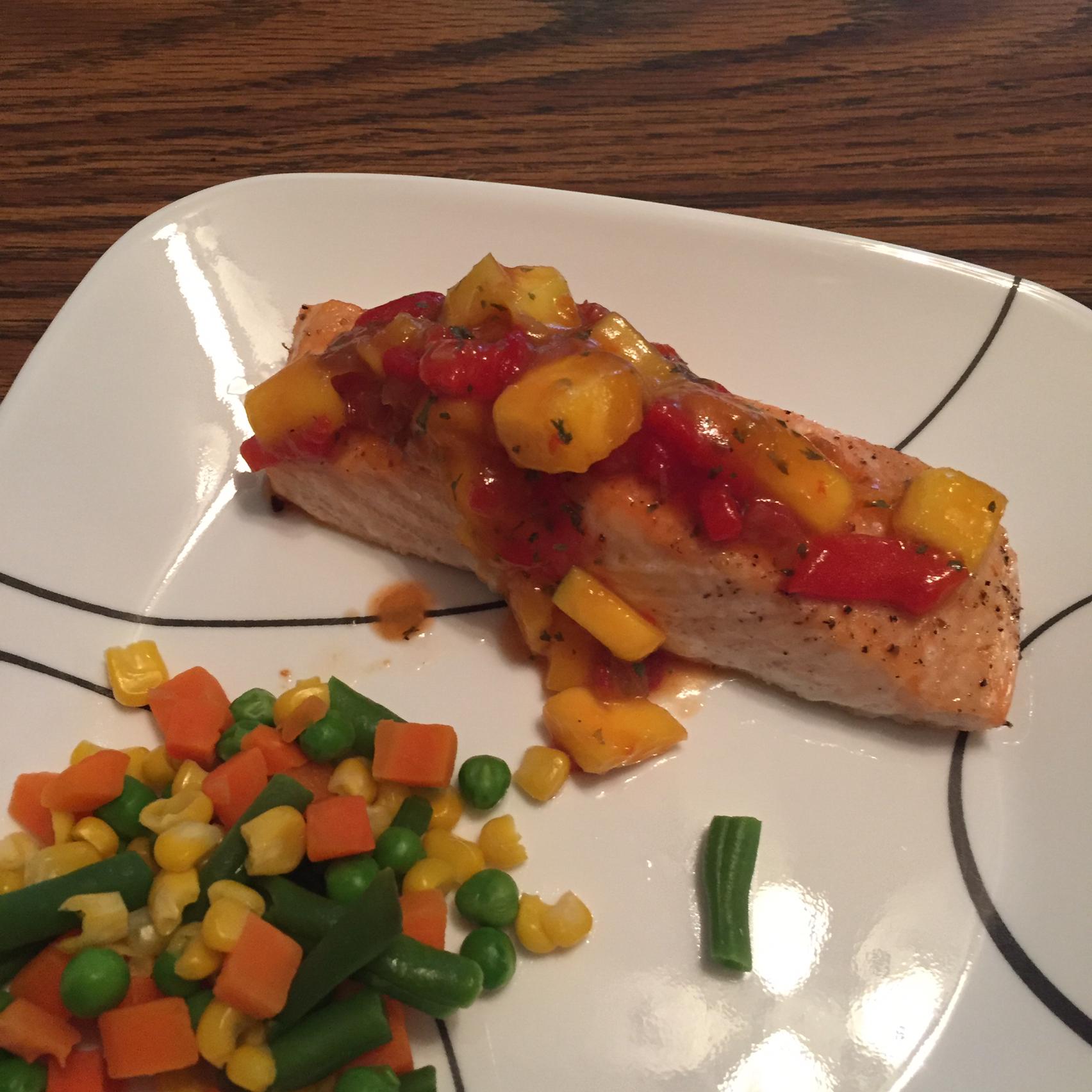 Chef John's Salmon Mango Bango