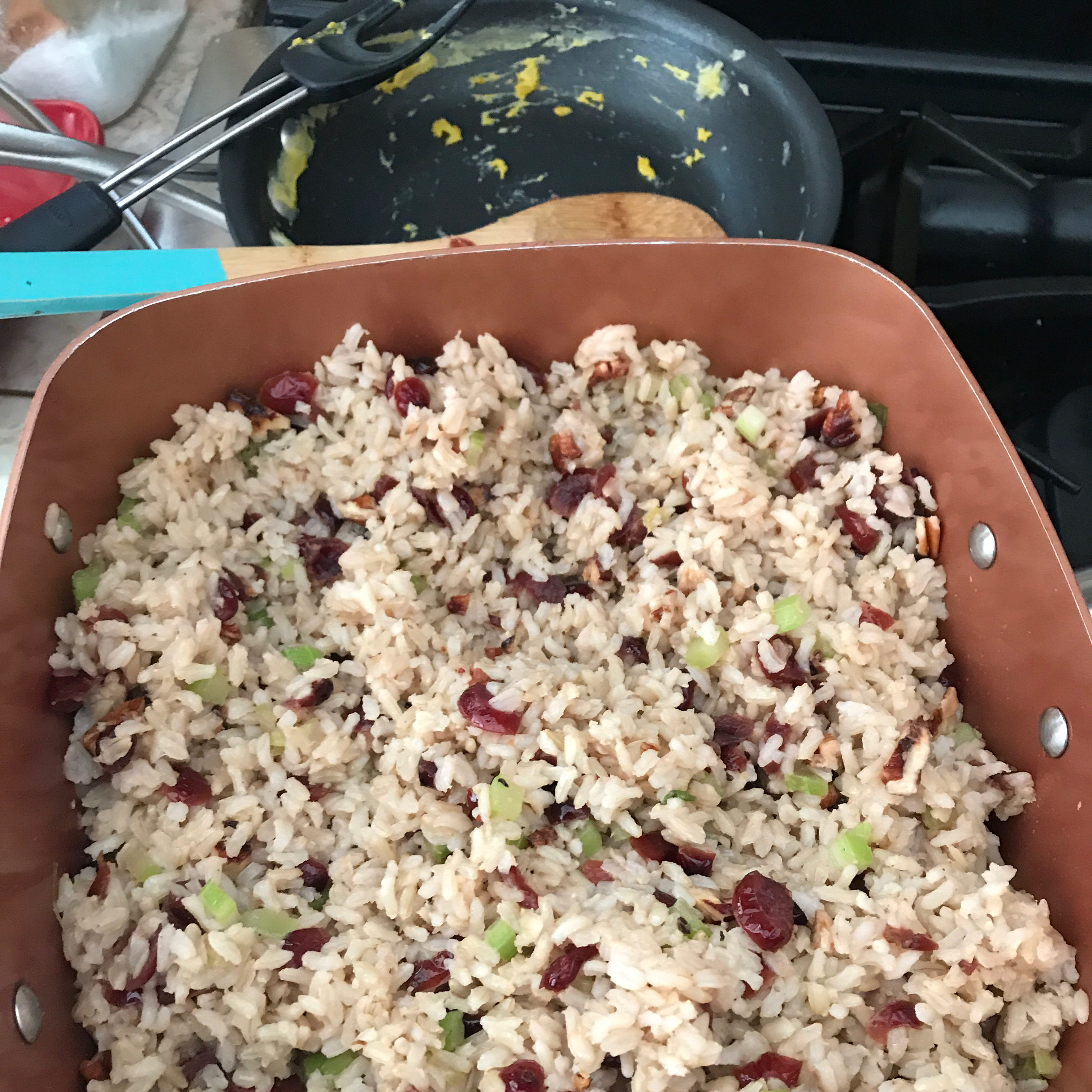 Cranberry Pecan Brown Rice Stuffing Patricia Useche