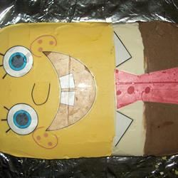 Golden Sponge Cake toodlebutt