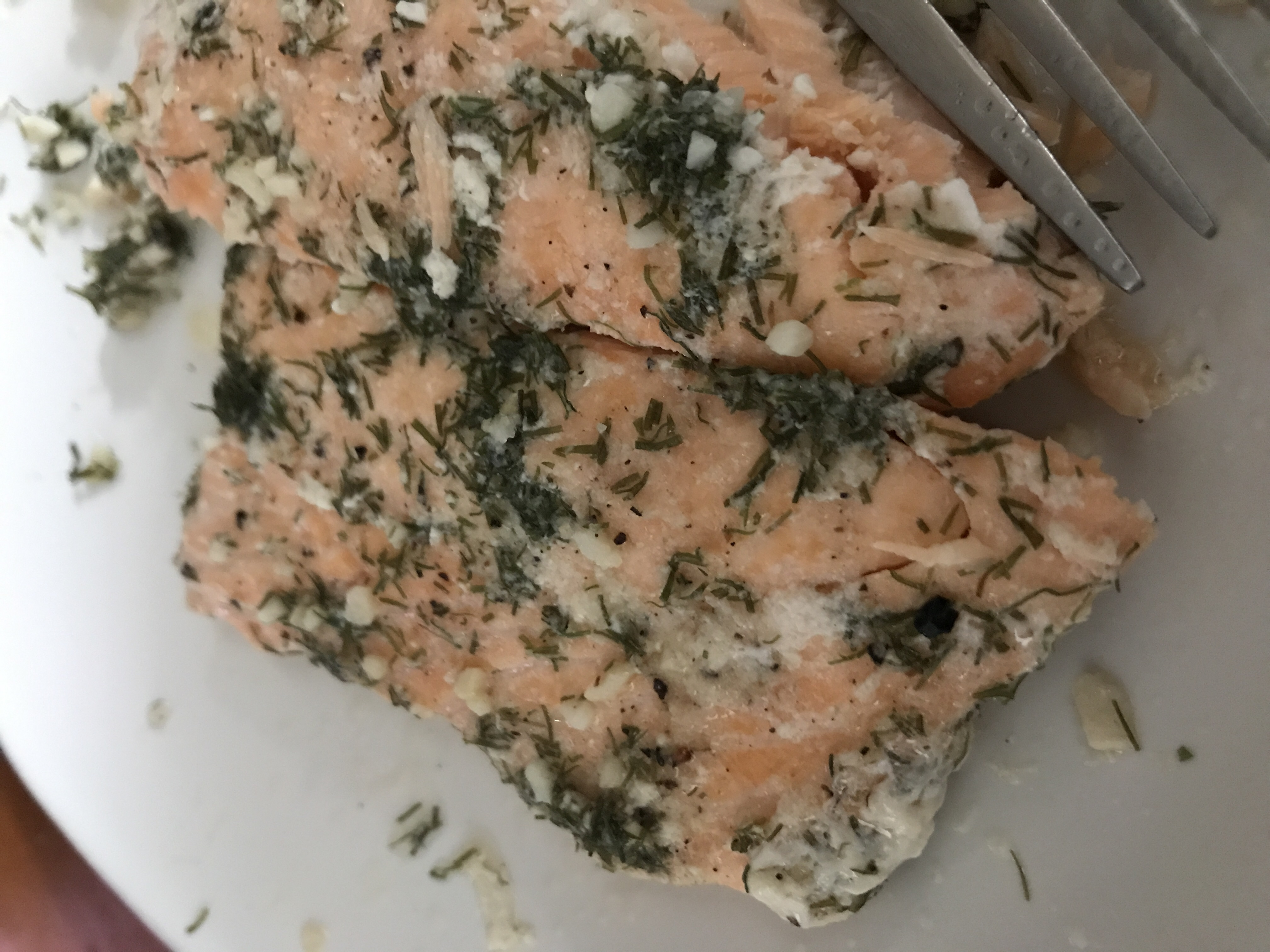 Salmon with Dill