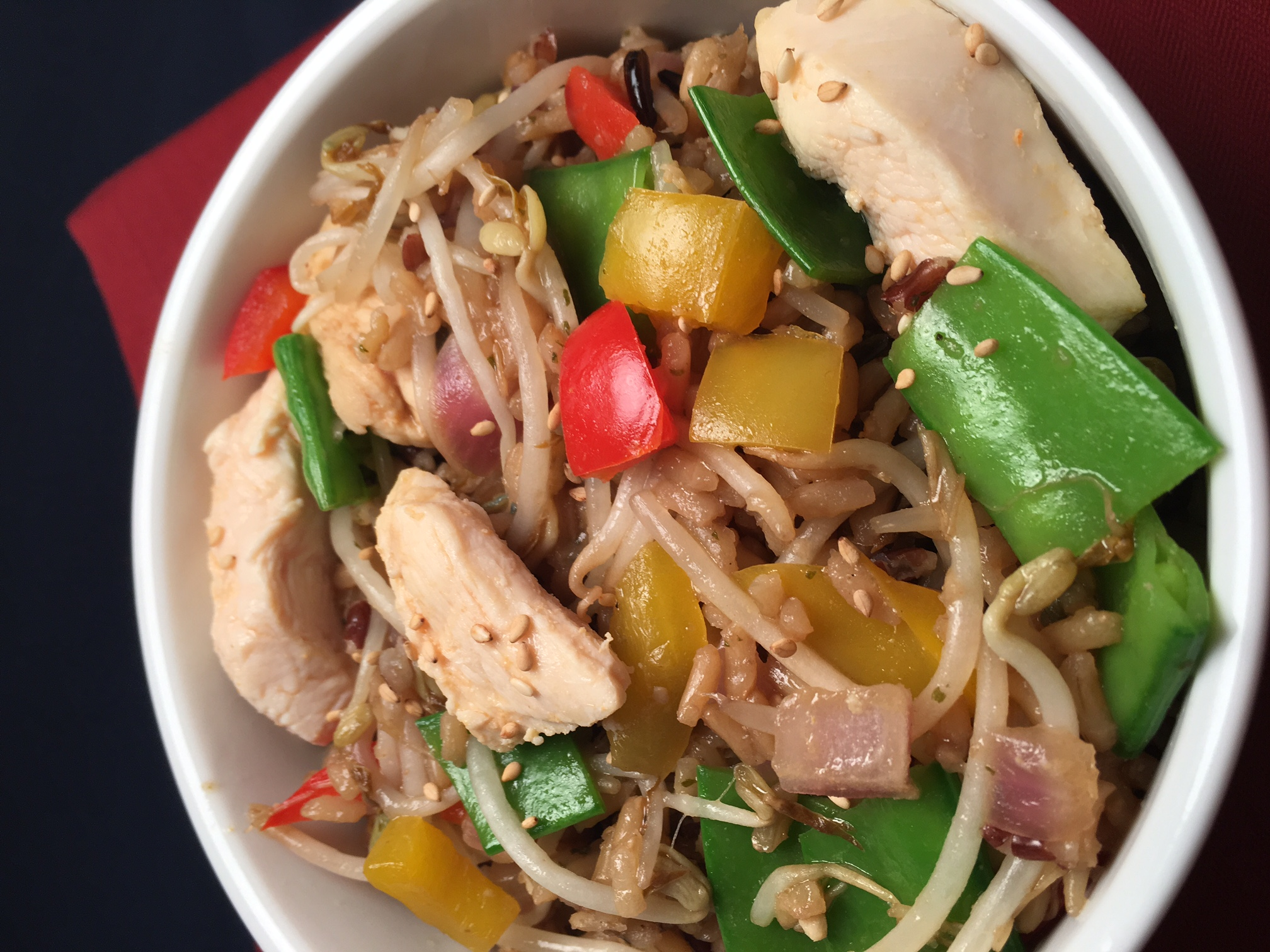 Chicken Vegetable Stir Fry Howard