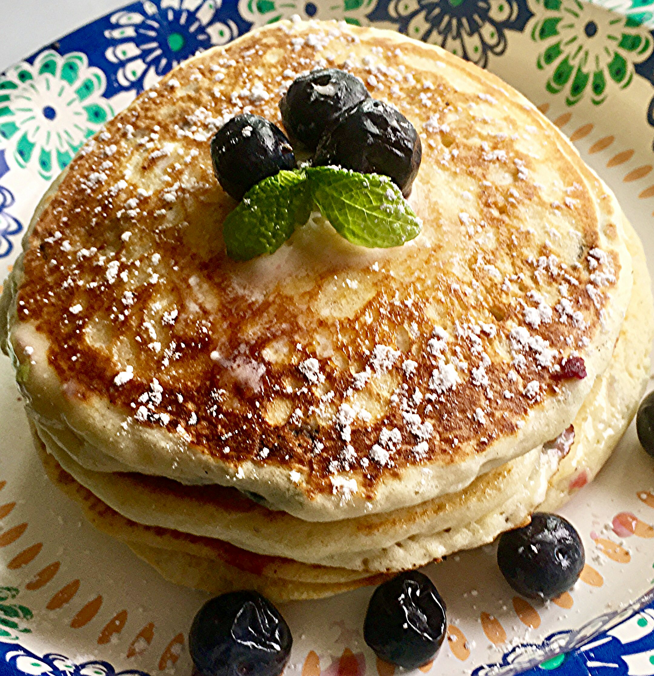 Todd's Famous Blueberry Pancakes Yoly