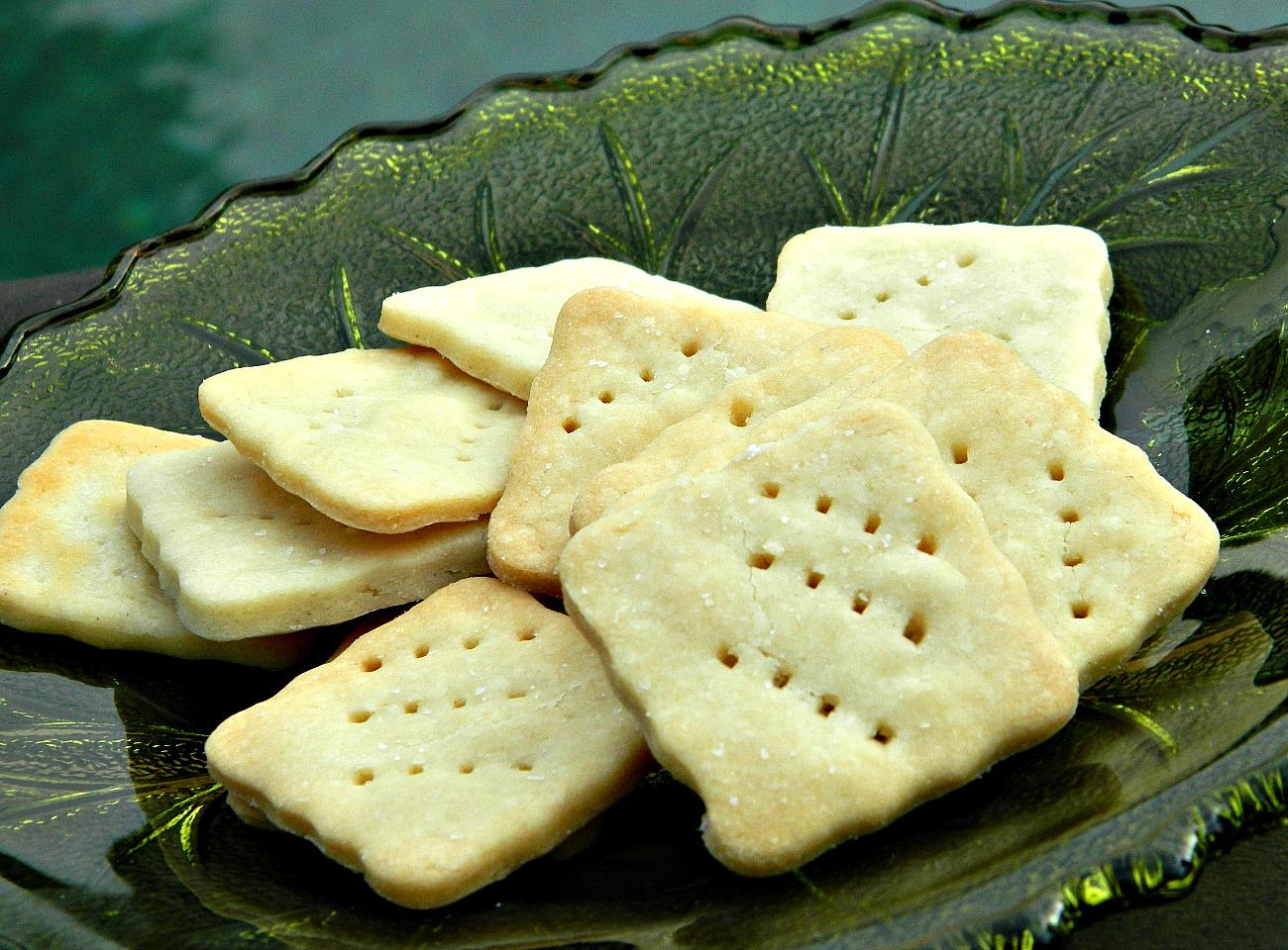 Gluten-Free Butter Crackers Marianne