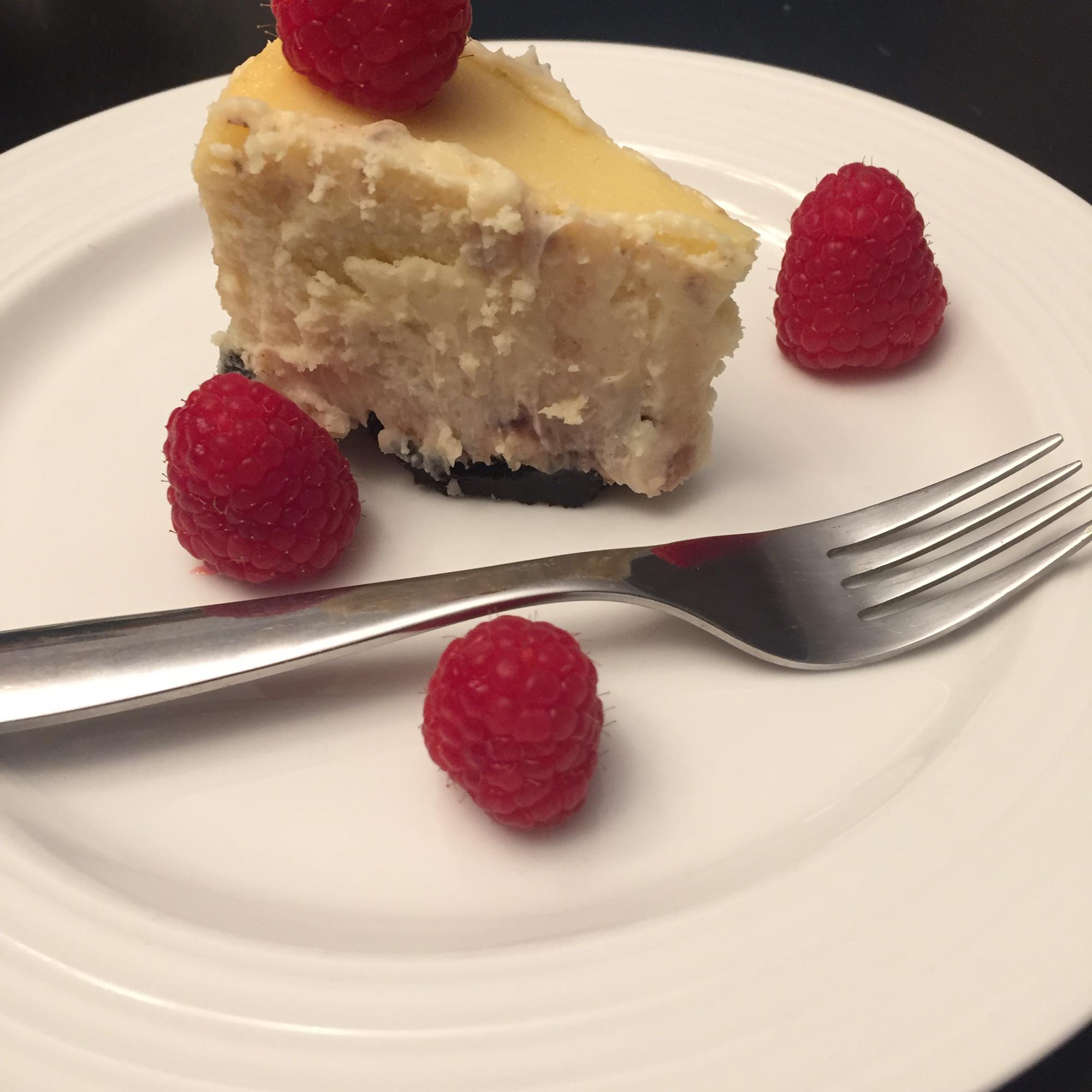 White Chocolate Raspberry Cheesecake K.K.