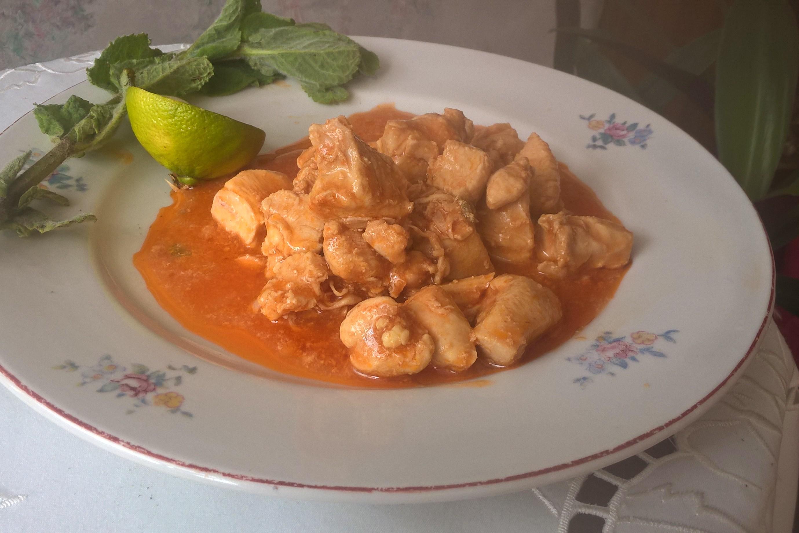 Trinidad Stewed Chicken