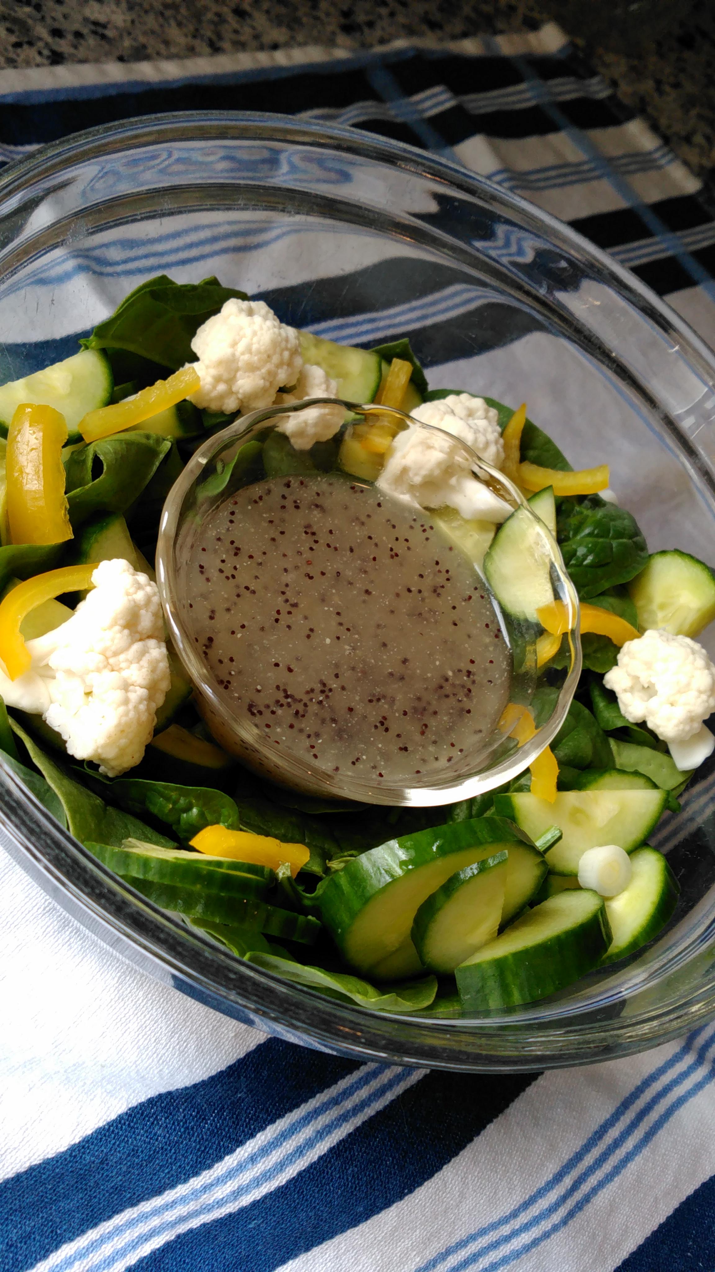 Healthier Poppy Seed Salad Dressing for 2 Bren