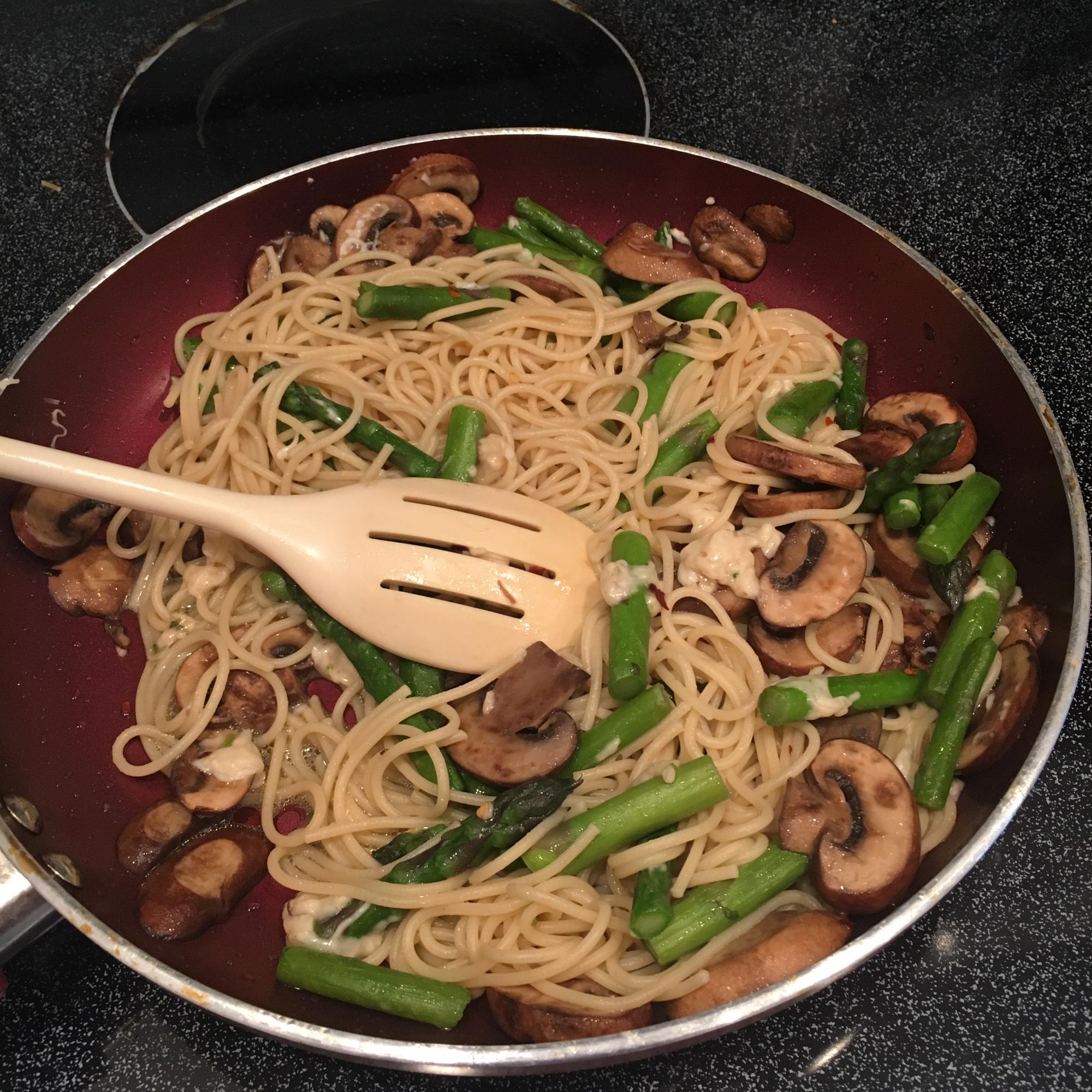 Pasta with Asparagus jcteach1
