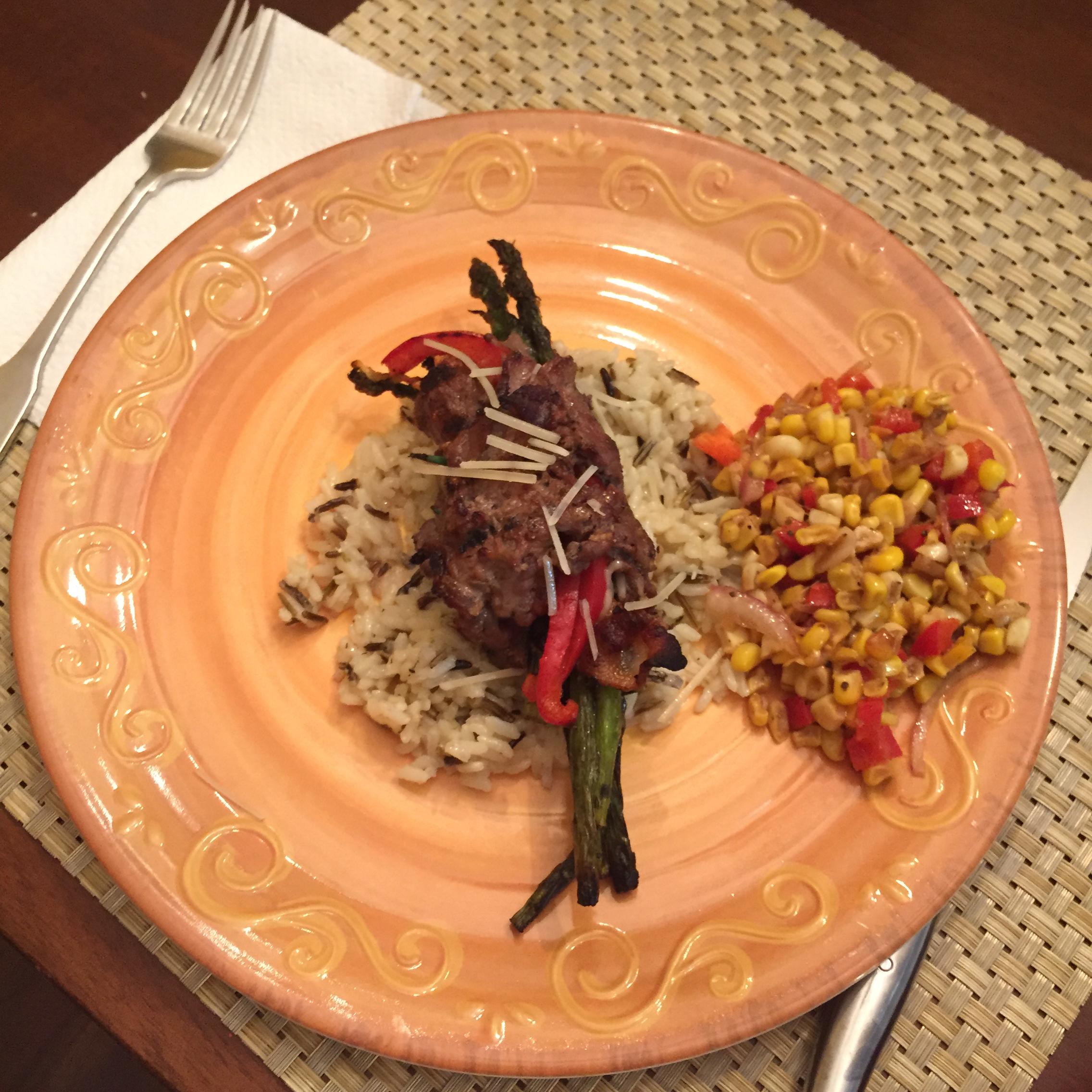 Grilled Asparagus Steak Bundles James Fleming