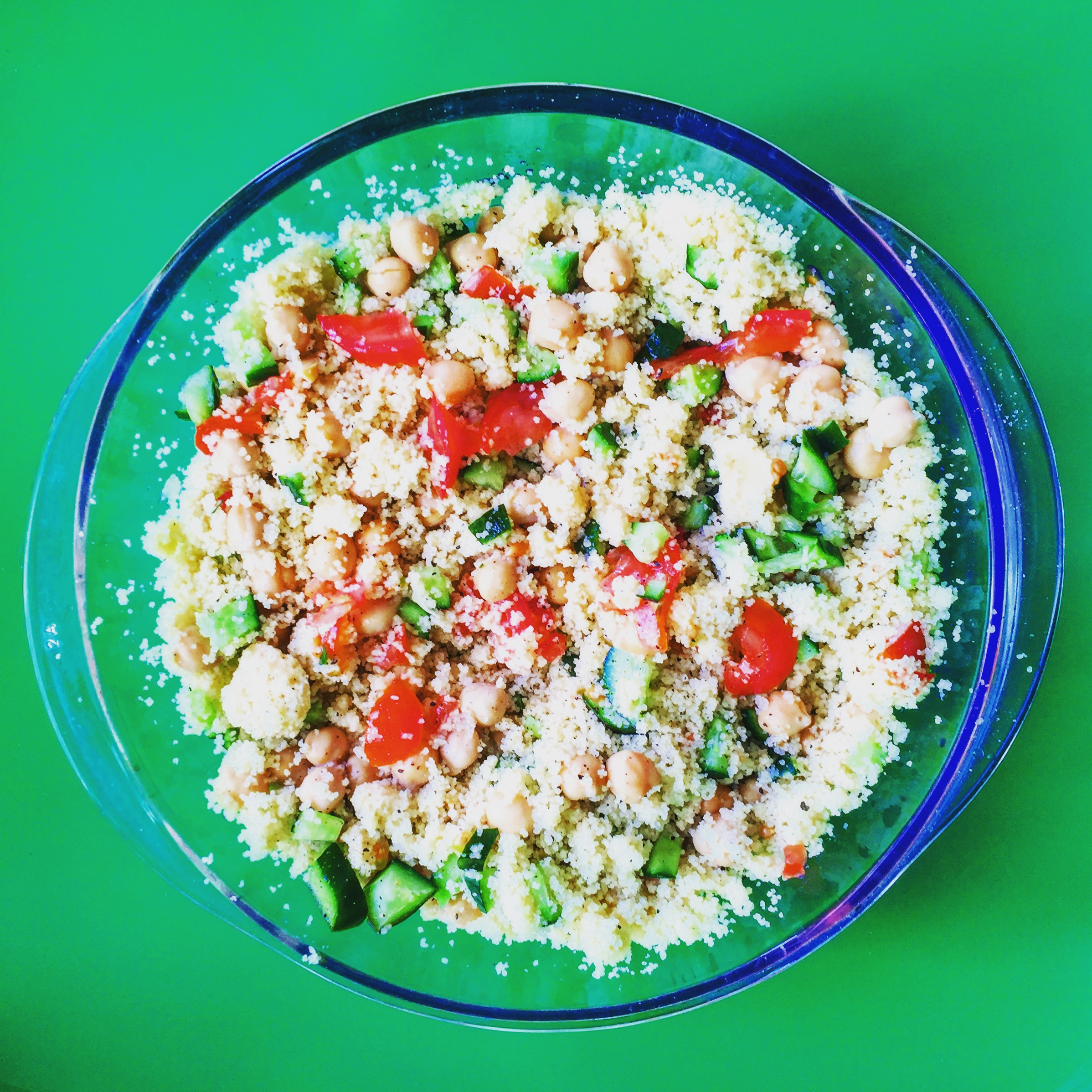 Chickpea and Couscous Delight